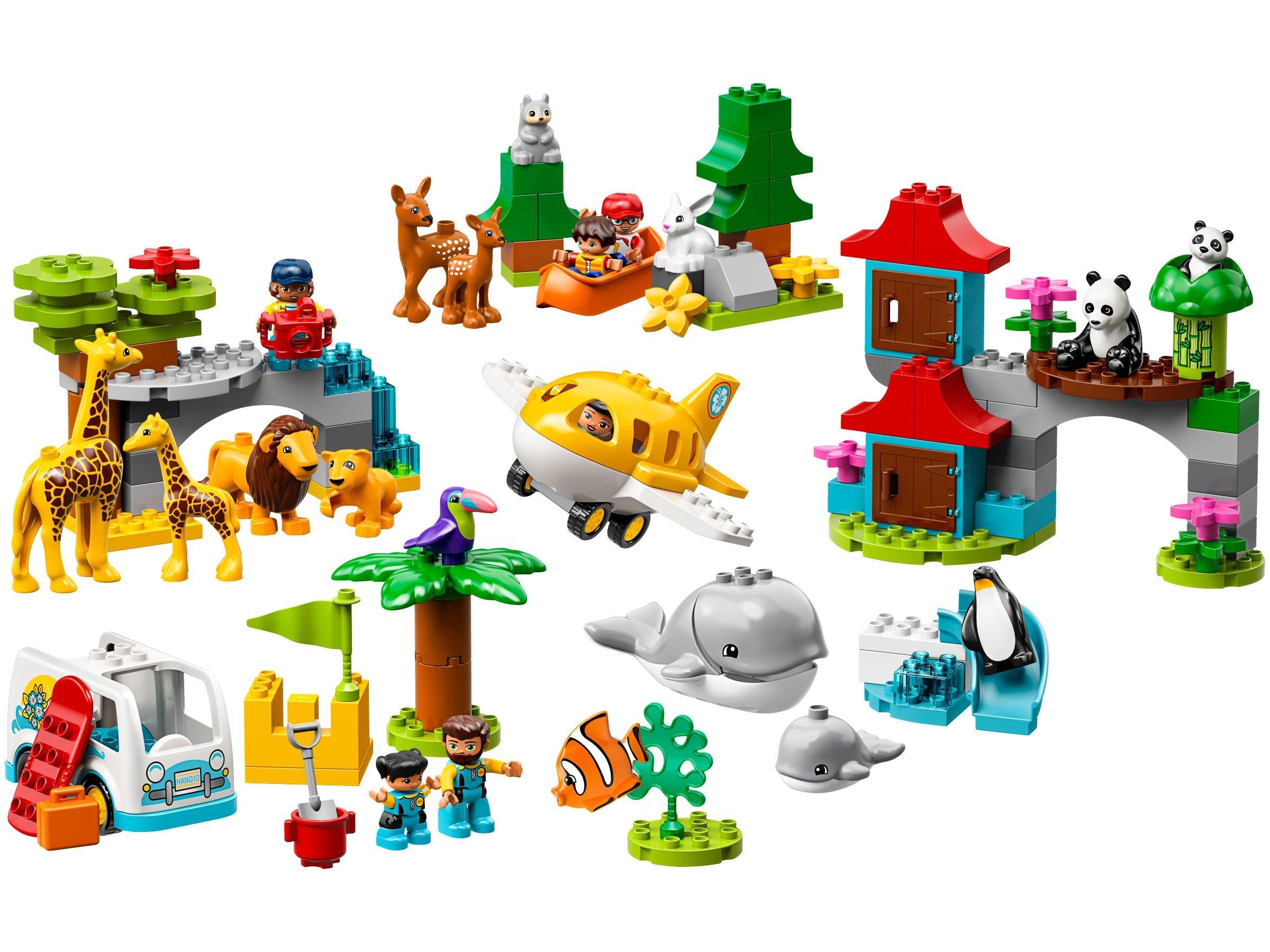 LEGO® DUPLO® 10907 Tiere der Welt