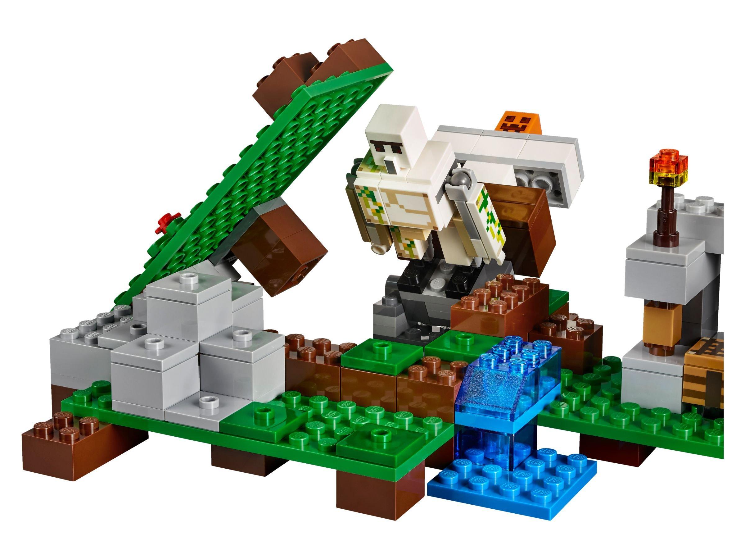 Lego Minecraft 21123 Der Eisengolem Brickmerge