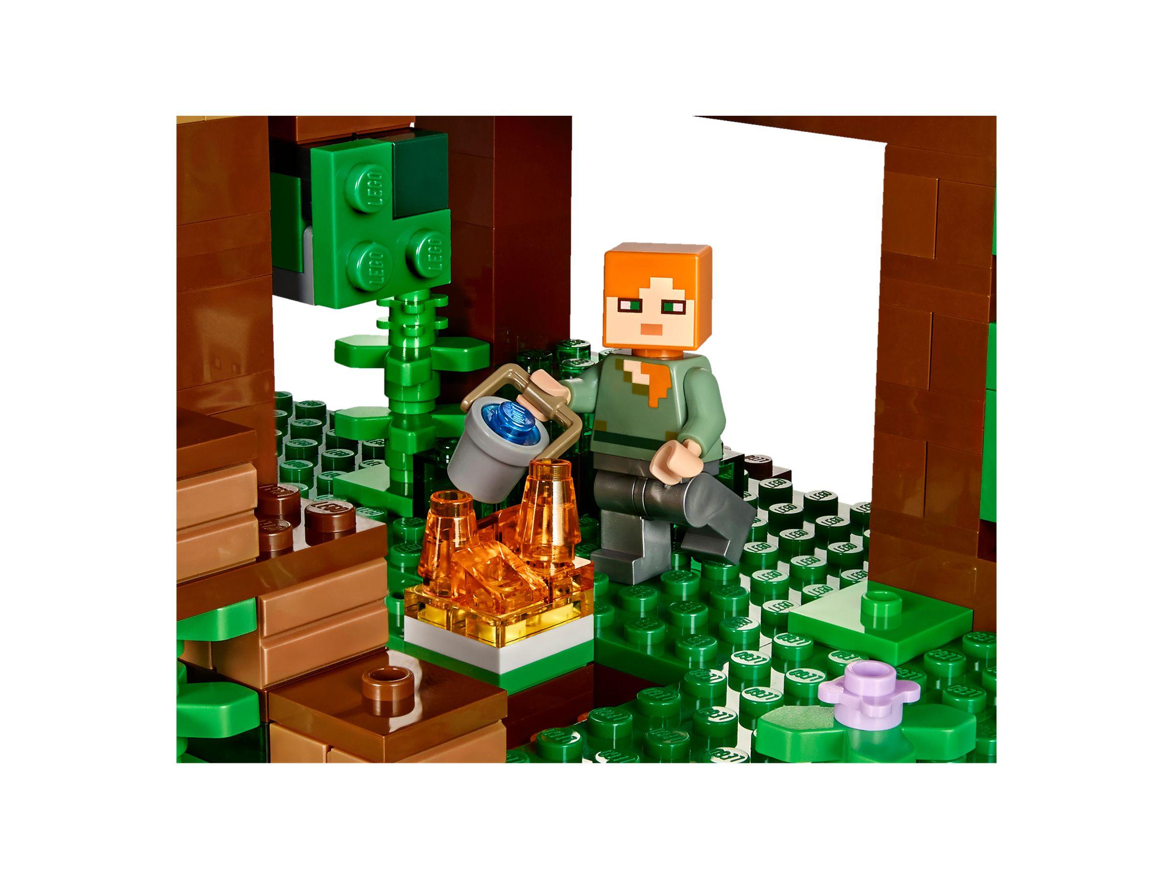LEGO Minecraft 21125 Das Dschungel Baumhaus LEGO_21125_alt5. LEGO  Minecraft 21125 Das Dschungel Baumhaus LEGO_21125_alt5