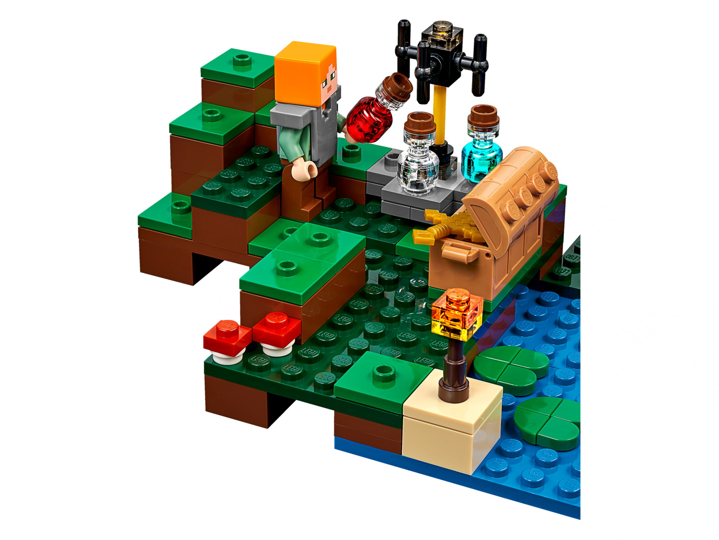 LEGO Das Hexenhaus Minecraft Witch House Brickmerge - Minecraft hexenhauser
