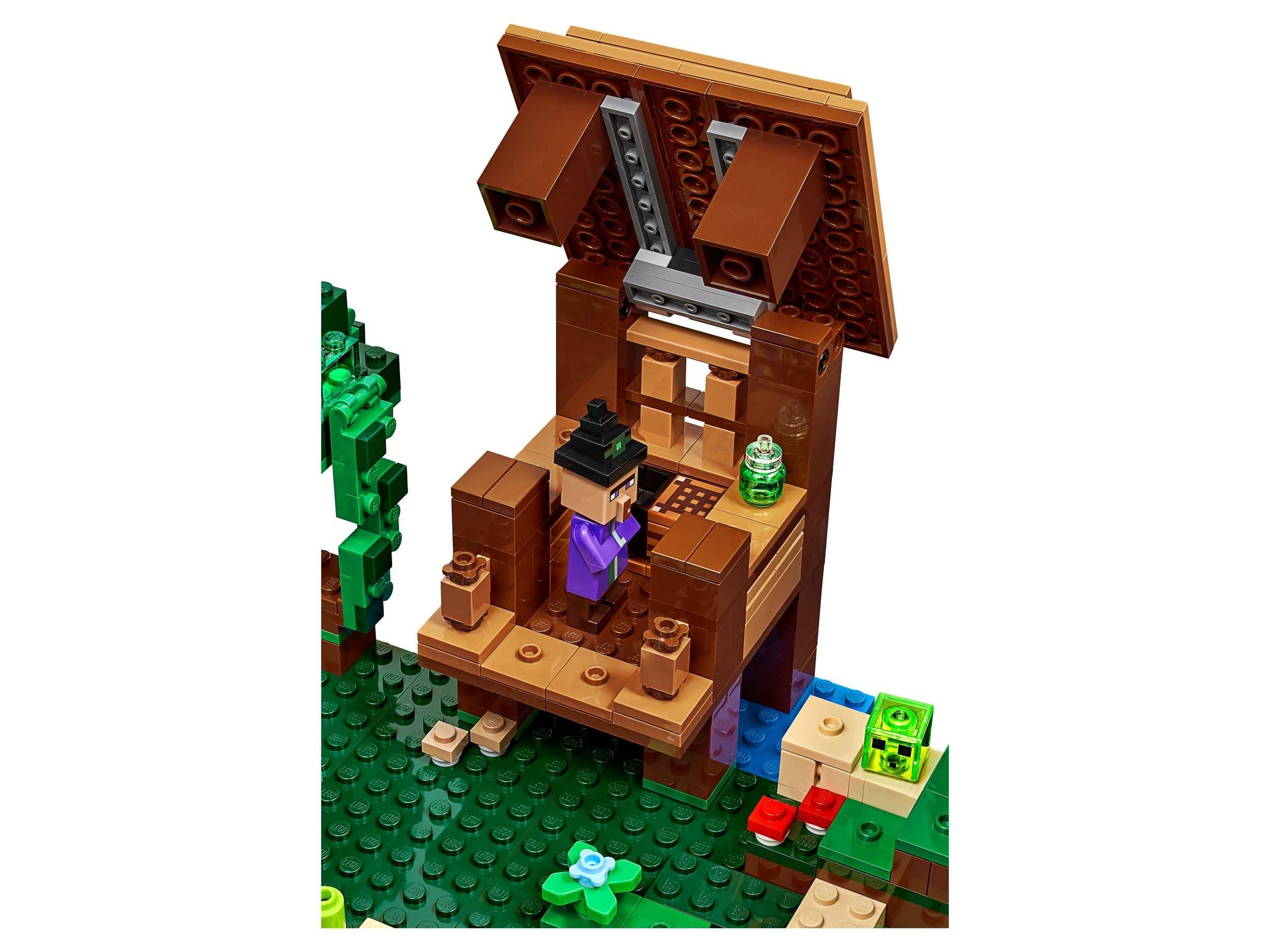LEGO Minecraft Das Hexenhaus Mit Bildern Lifesteyl - Minecraft hexenhauser