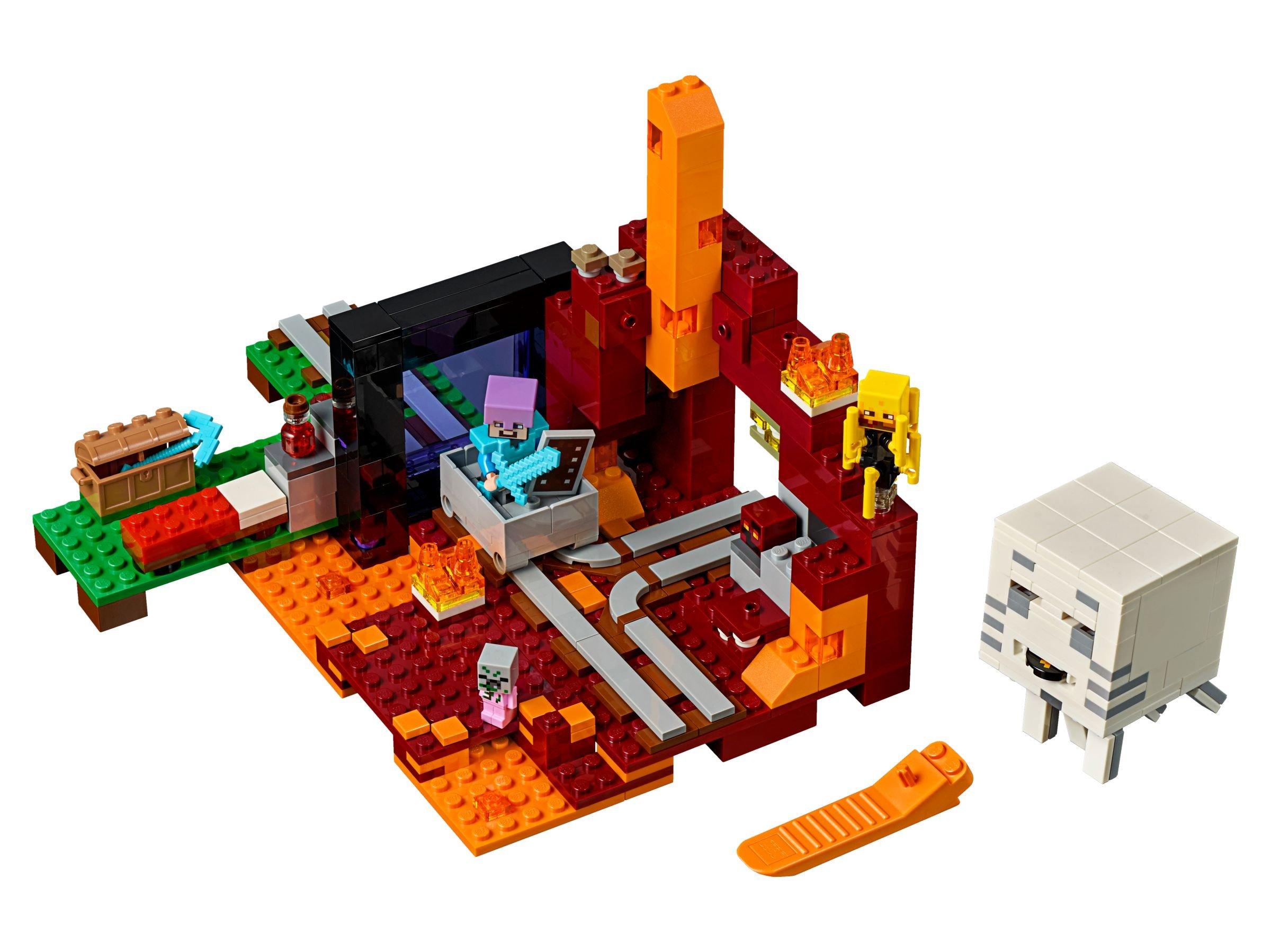 LEGO 21143 Netherportal - Minecraft (2018) ab 35,67 €: 29% gespart ...