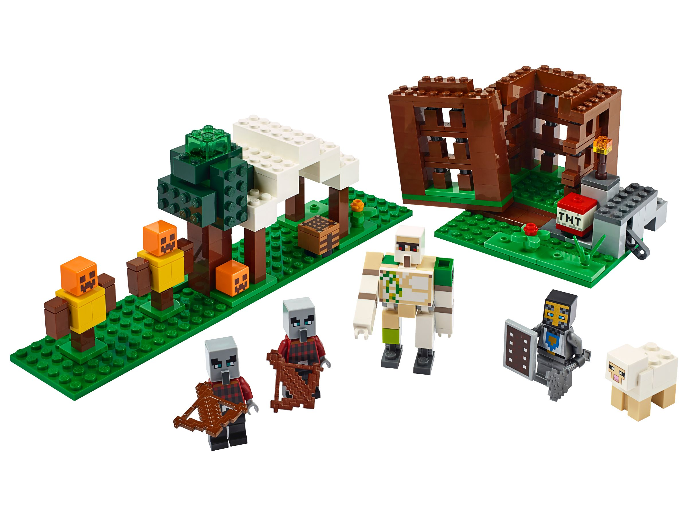 LEGO Minecraft 21159 The Raider Outpost