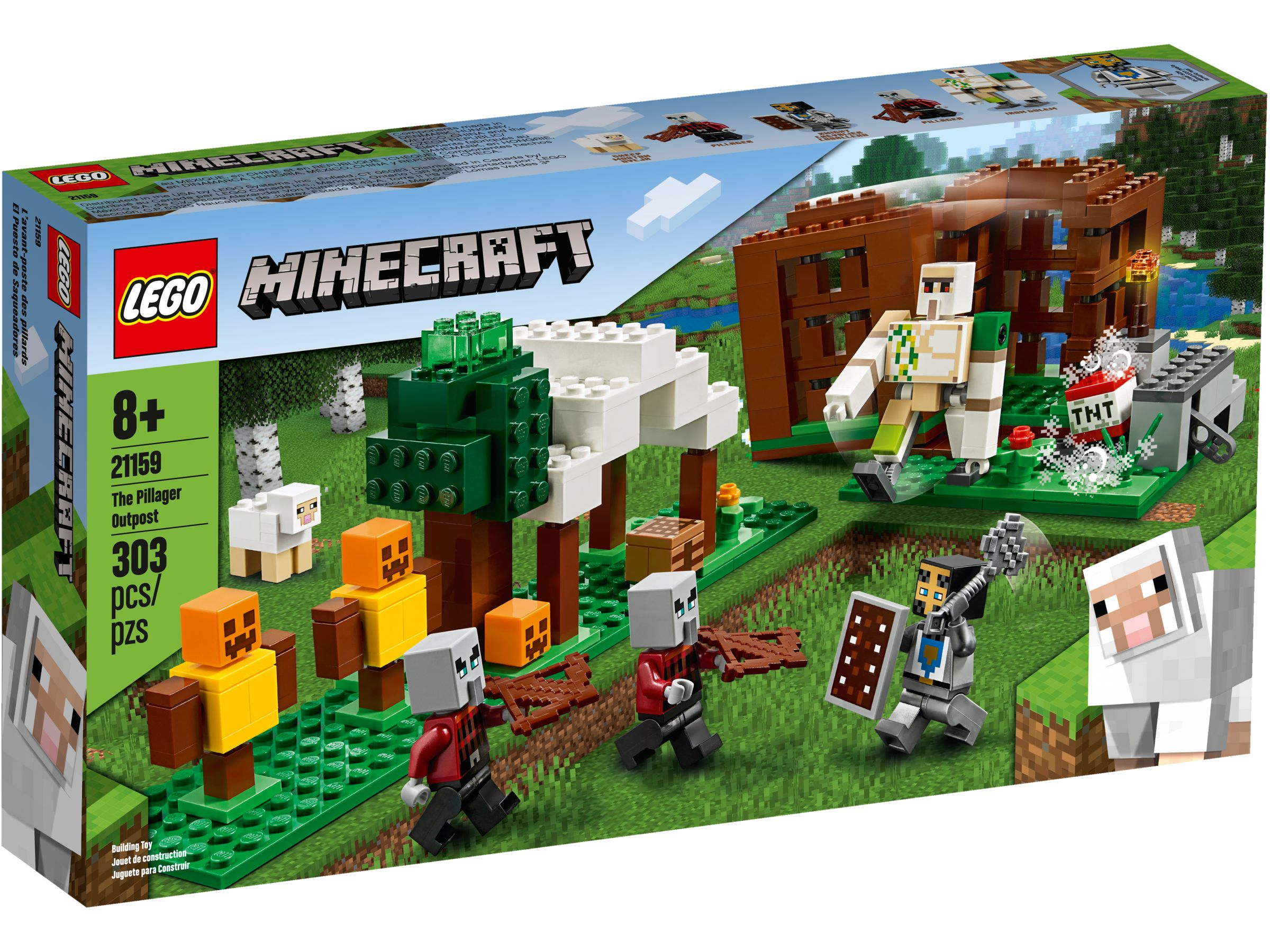 LEGO Minecraft 21159 The Raider Outpost LEGO_21159_alt1.jpg