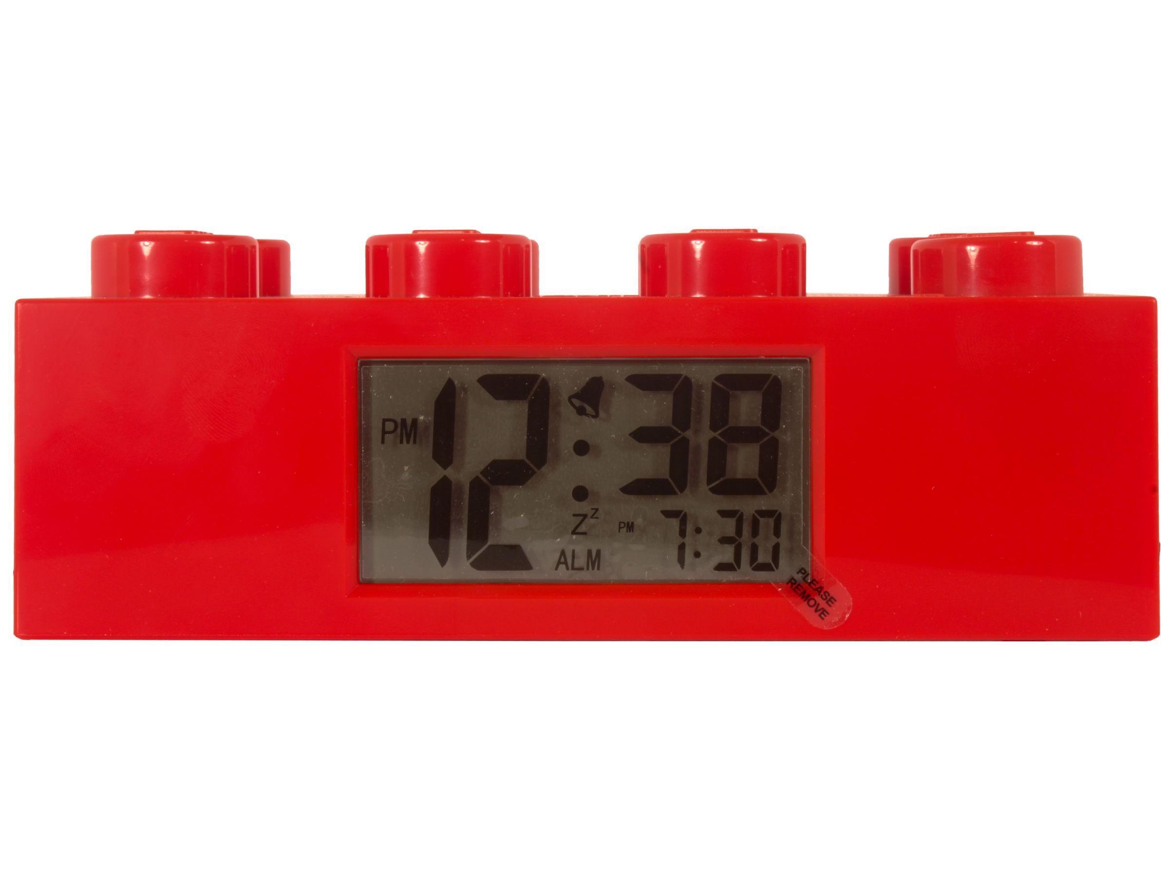 LEGO® Gear 2856236 Roter LEGO® Stein-Wecker