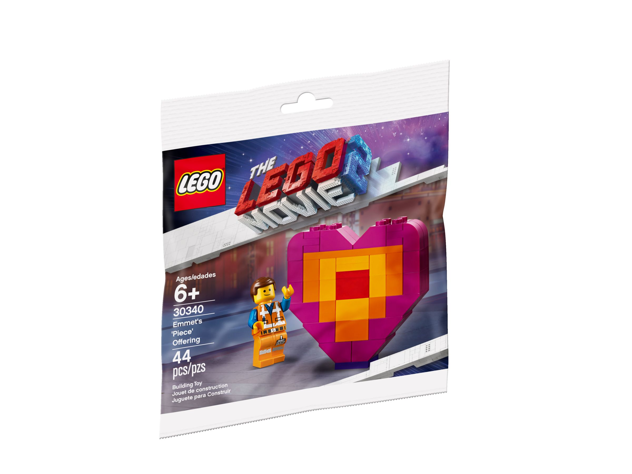 LEGO The LEGO Movie 2 30340 Emmet's Piece Offering LEGO_30340_alt1.jpg