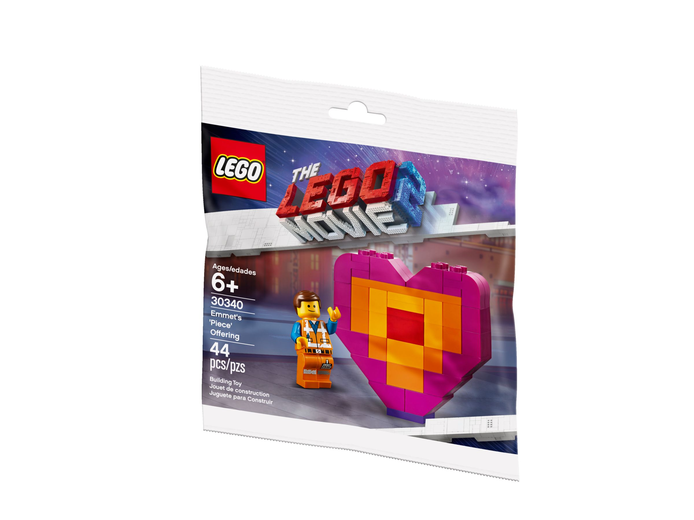LEGO The LEGO Movie 2 30340 Emmet's Piece Offering LEGO_30340_alt2.jpg
