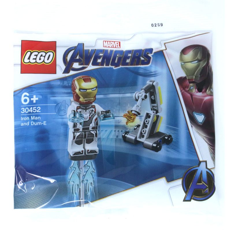 LEGO Super Heroes 30452 Iron Man and Dum-E