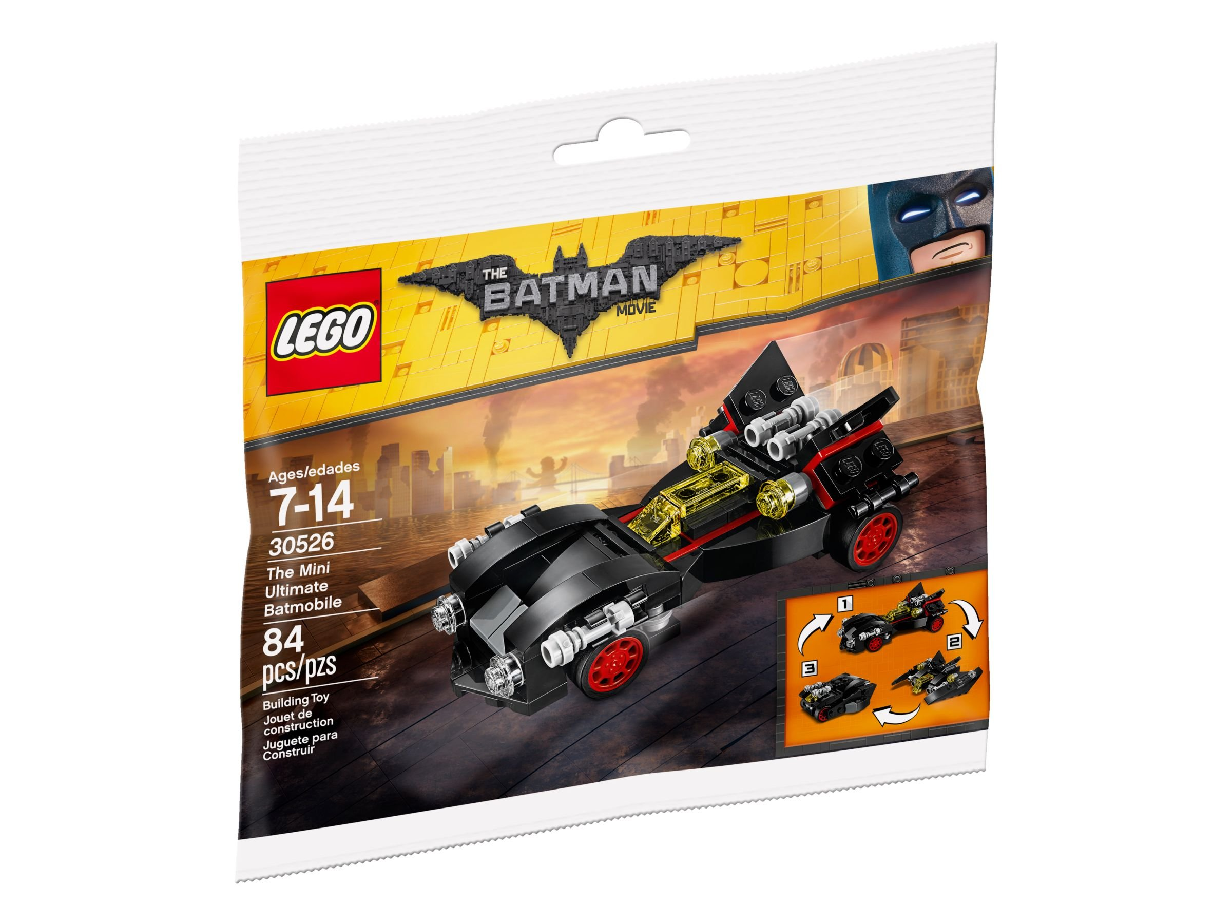 LEGO The LEGO Batman Movie 30526 LEGO 30526 The Mini Ultimate Batmobile Polybag LEGO_30526_alt1.jpg