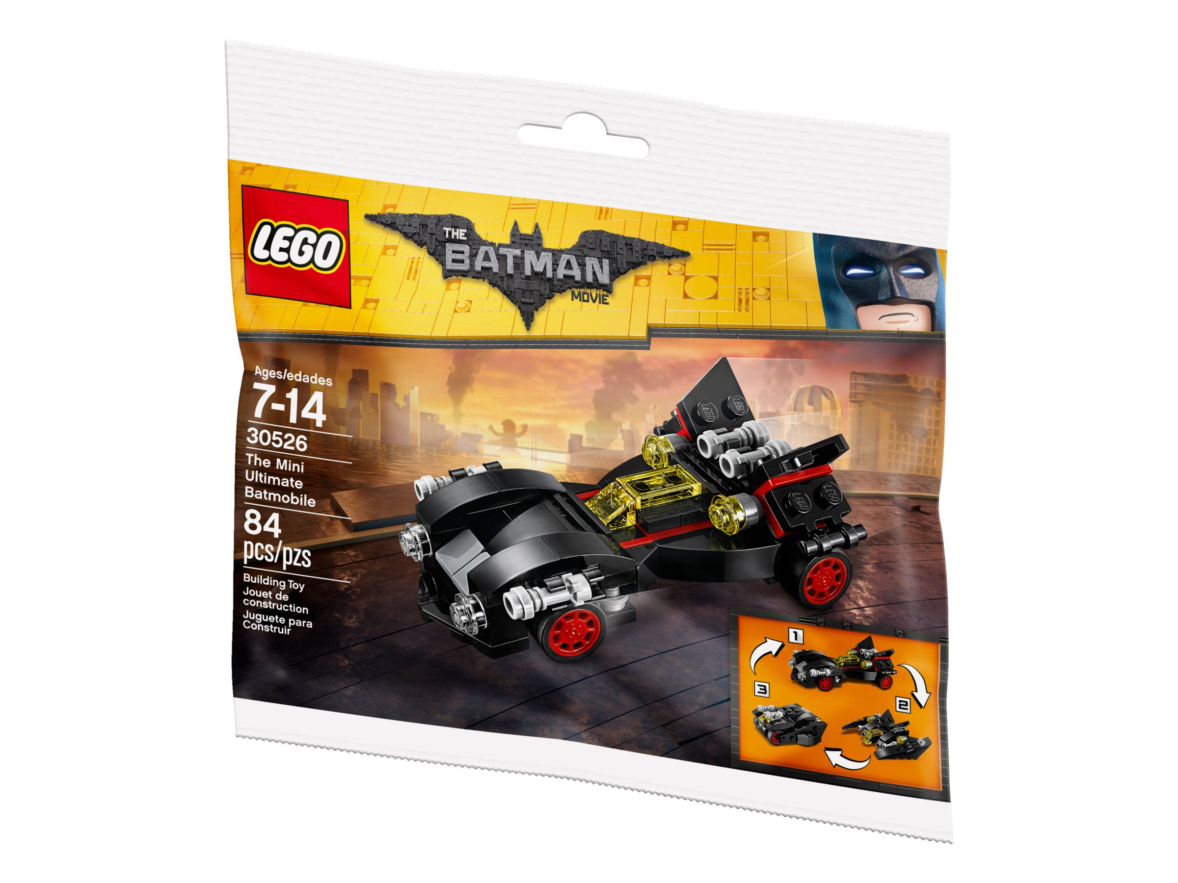 LEGO The LEGO Batman Movie 30526 LEGO 30526 The Mini Ultimate Batmobile Polybag LEGO_30526_alt3.jpg