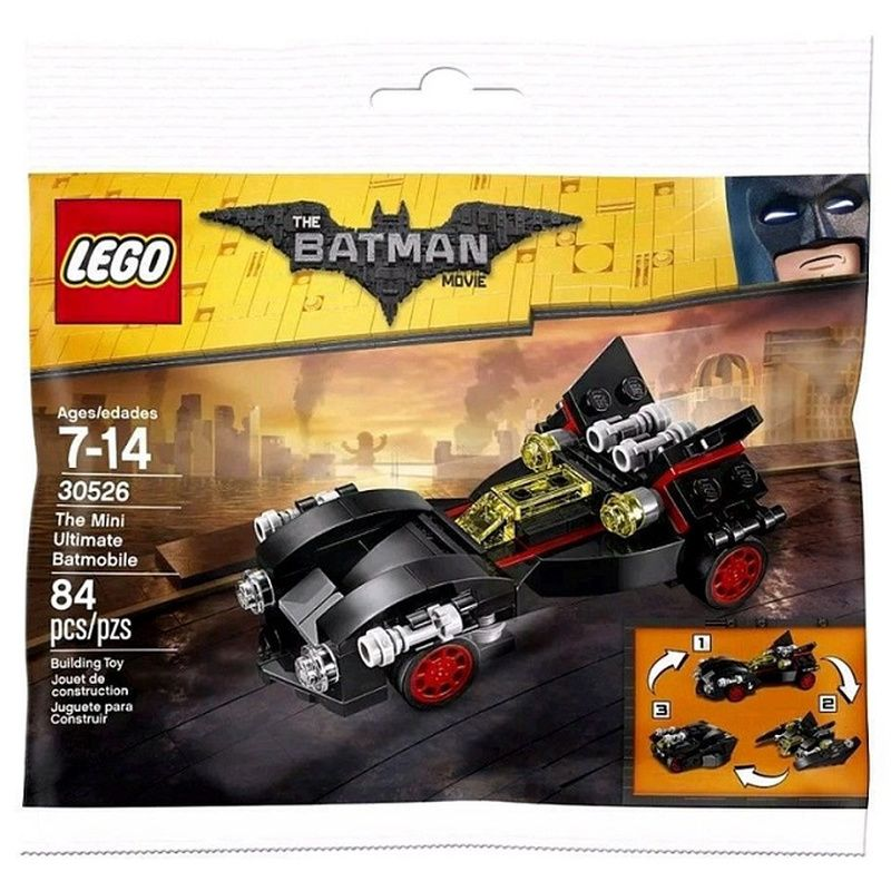 LEGO The LEGO Batman Movie 30526 LEGO 30526 The Mini Ultimate Batmobile Polybag