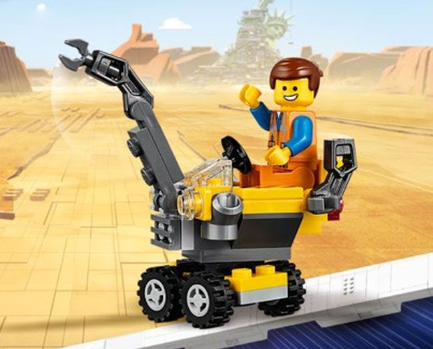 LEGO The LEGO Movie 2 30529 Mini Master-Building Emmet