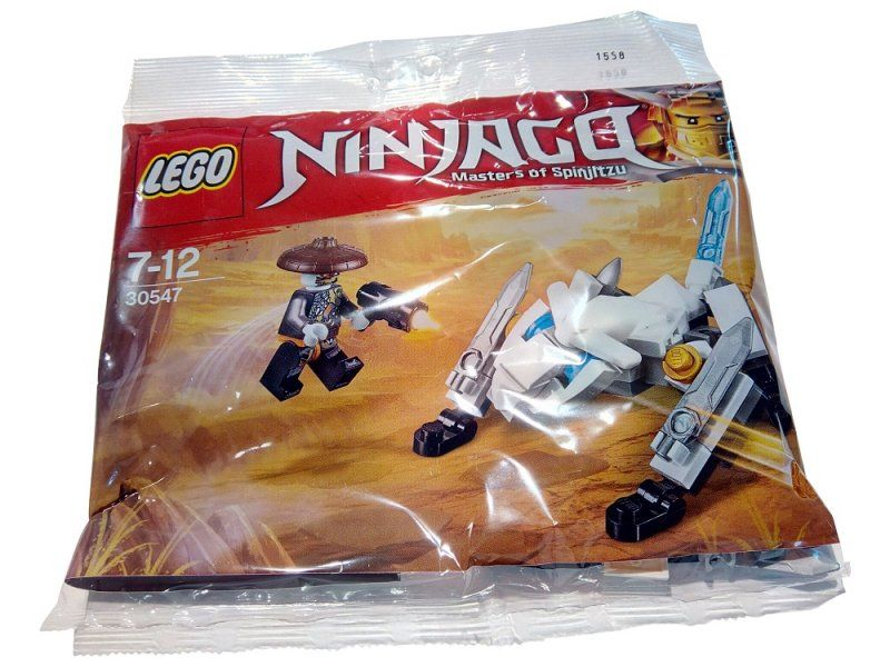 LEGO Ninjago 30547 LEGO Ice Dragon Hunter Polybag 30547