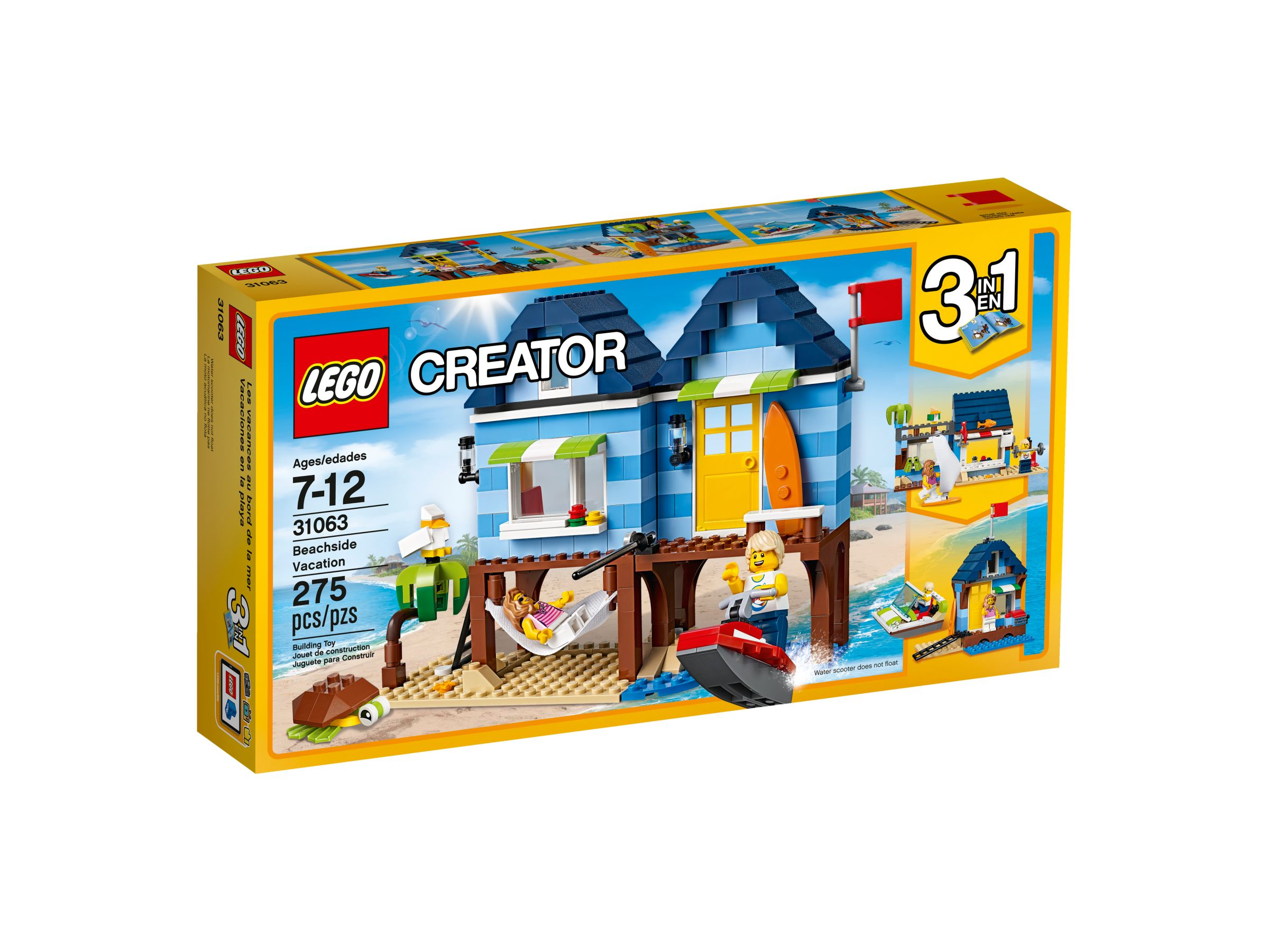 lego 31063 strandurlaub creator 2017 ab 24 16. Black Bedroom Furniture Sets. Home Design Ideas
