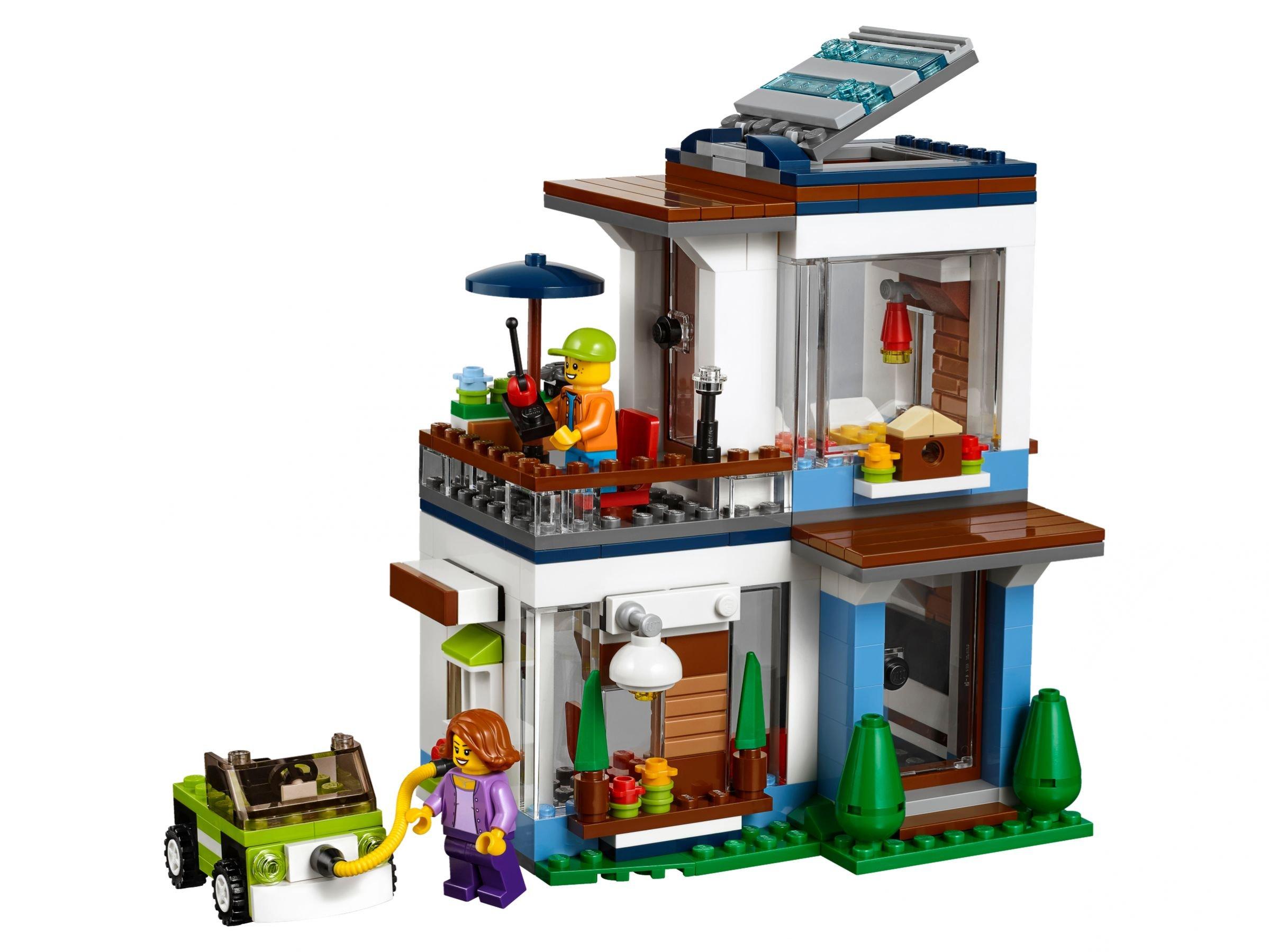 Lego 31068 modernes zuhause creator 2017 ab 26 99 for Modernes lego haus
