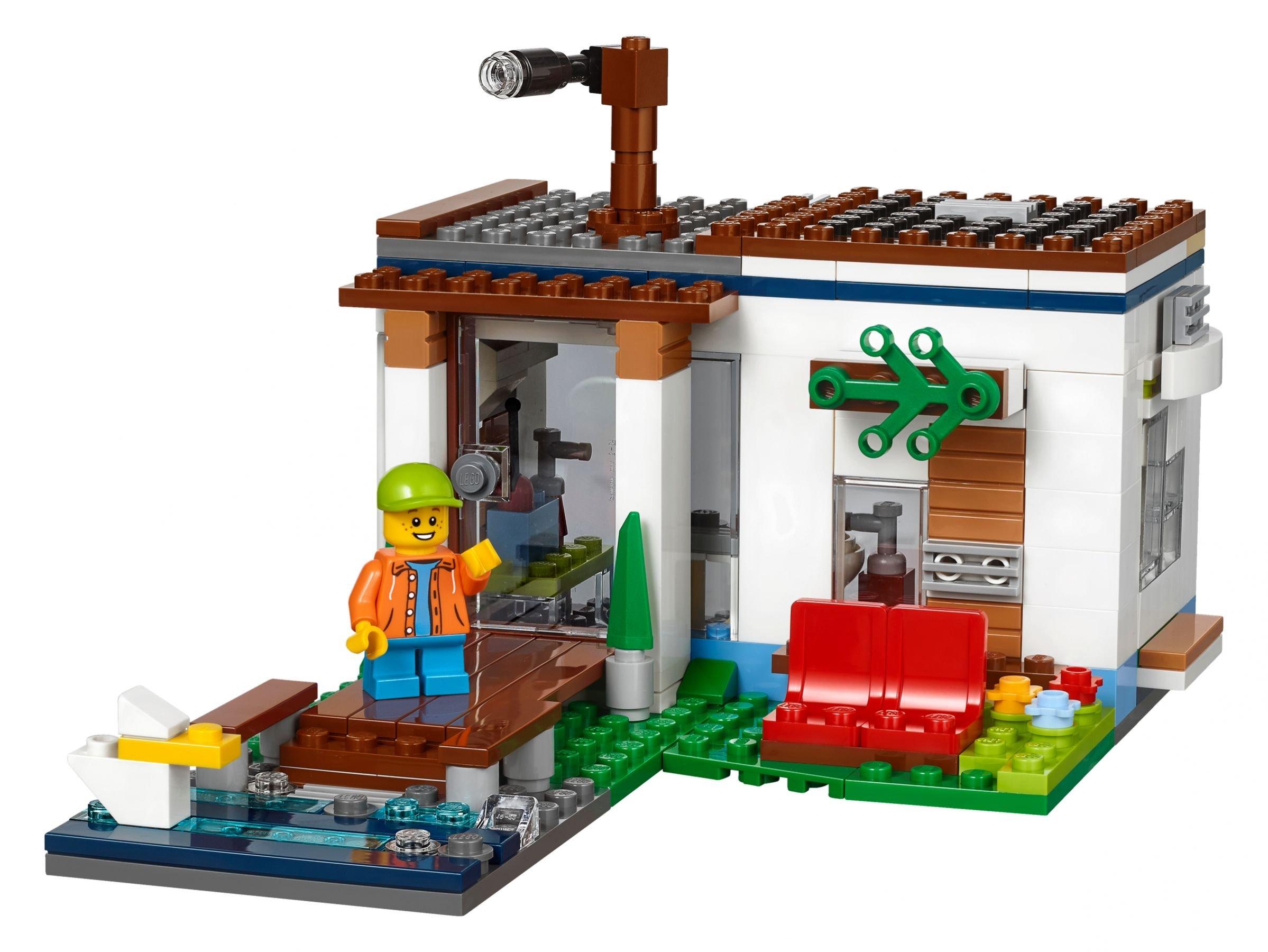 33 ab 23 49 modernes zuhause 31068 lego creator for Modernes lego haus