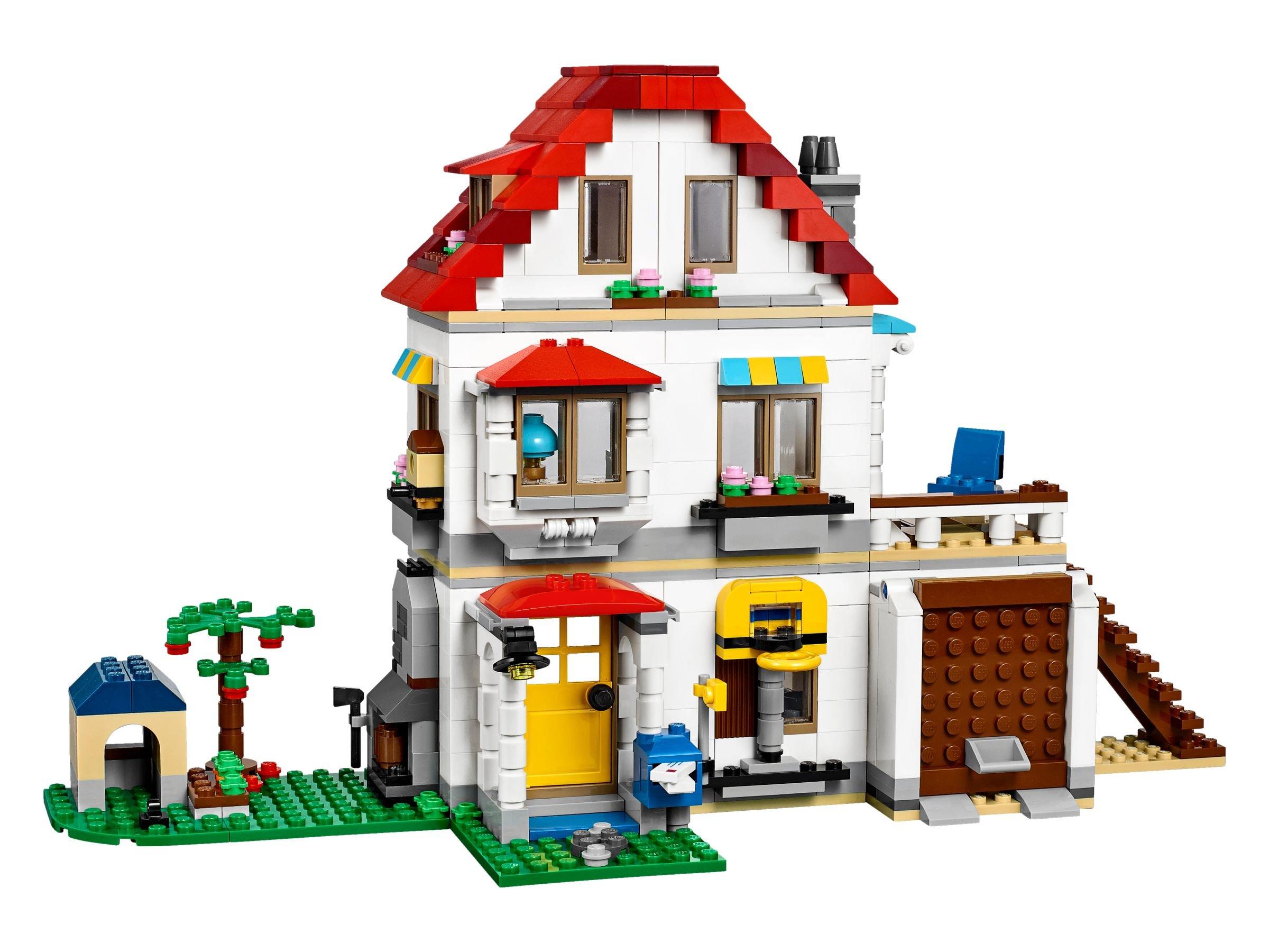lego creator 31069 familienvilla brickmerge preisvergleich. Black Bedroom Furniture Sets. Home Design Ideas
