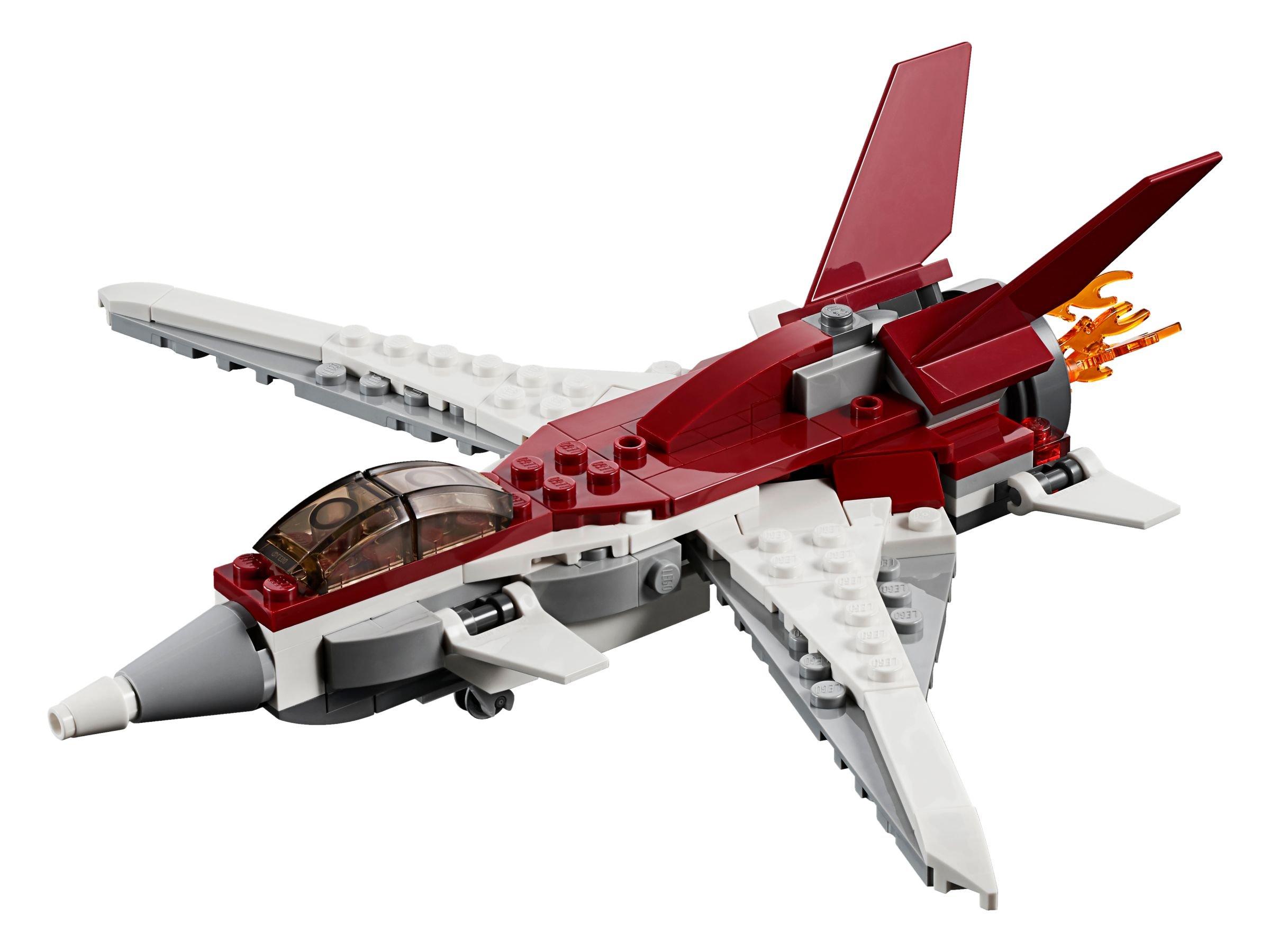 Lego Creator 31086 Flugzeug Der Zukunft Ab 1017 32 Gespart