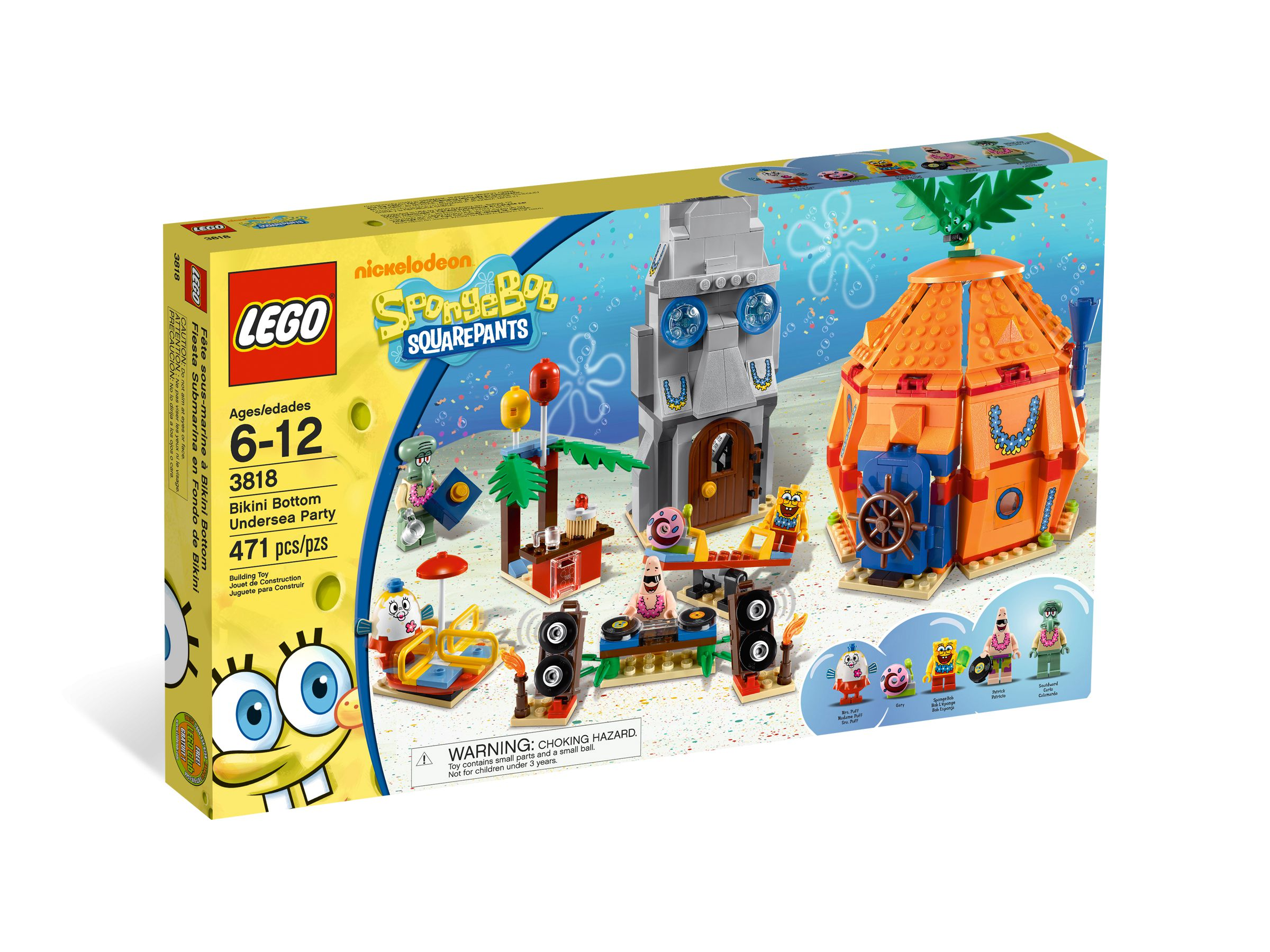 LEGO SpongeBob SquarePants 3818 Bikini Bottom Undersea Party LEGO_3818_alt1.jpg