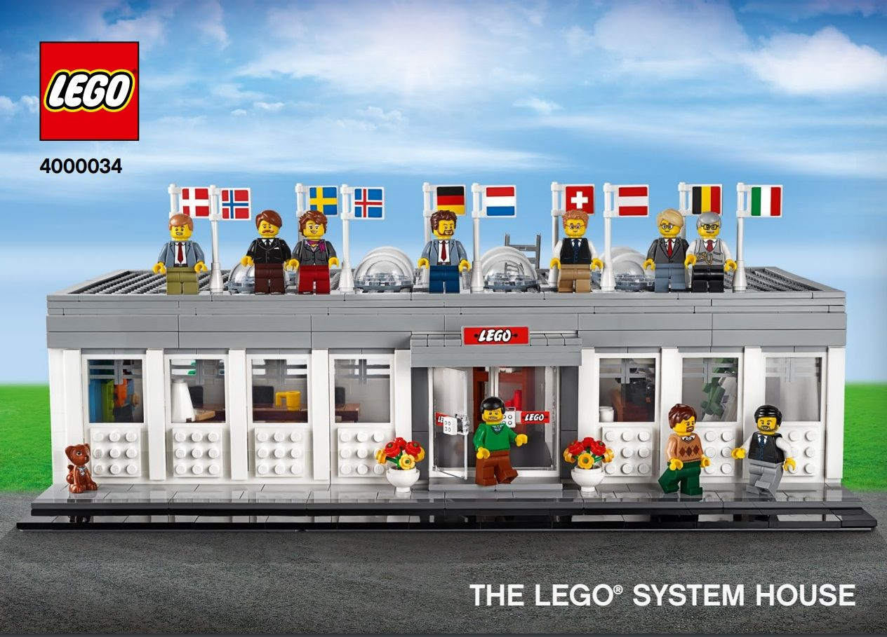 LEGO Miscellaneous 4000034 The LEGO System House - 2019 Inside Tour Set