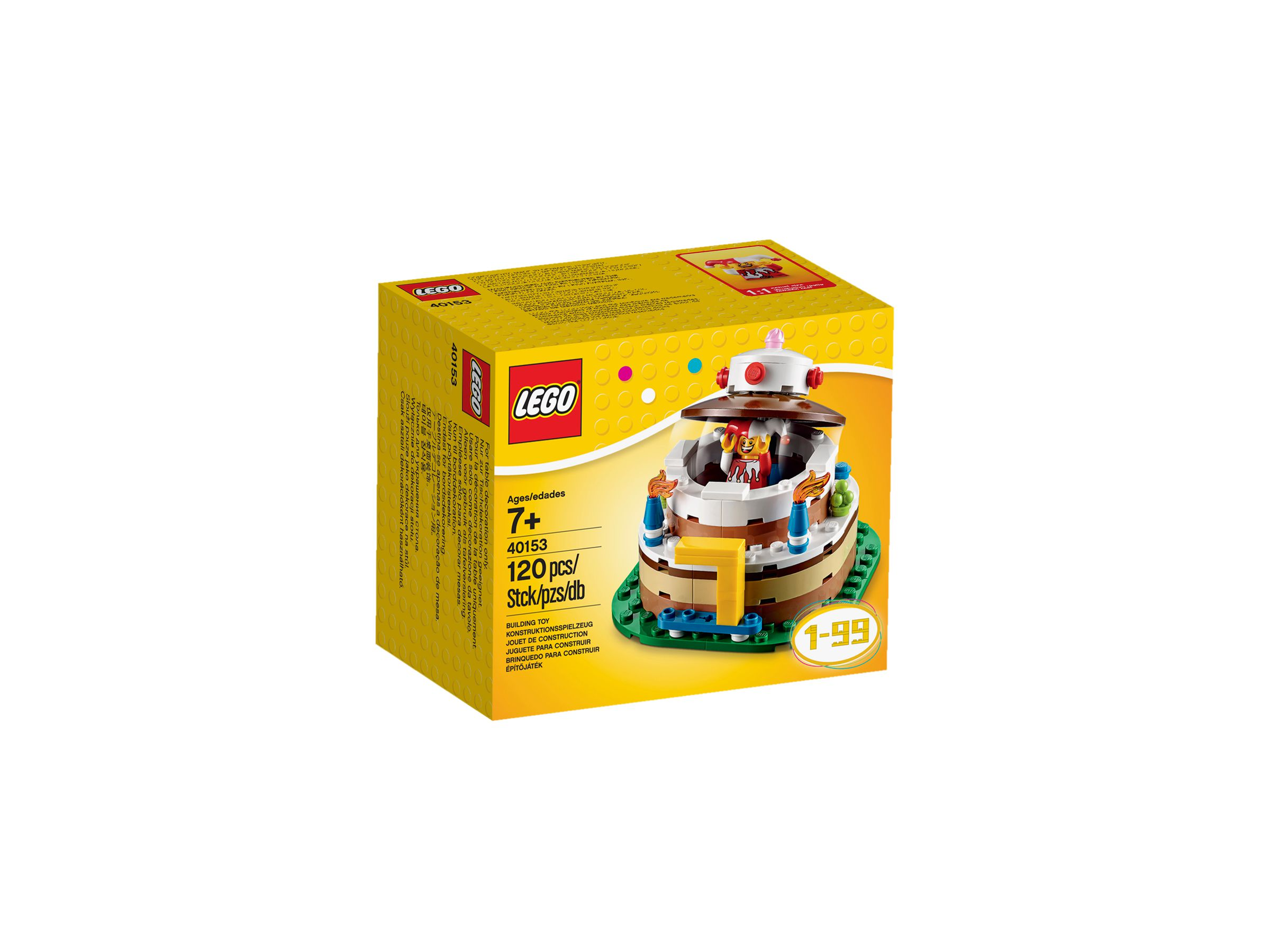 LEGO Seasonal 40153 Geburtstagstischdekoration Alt1