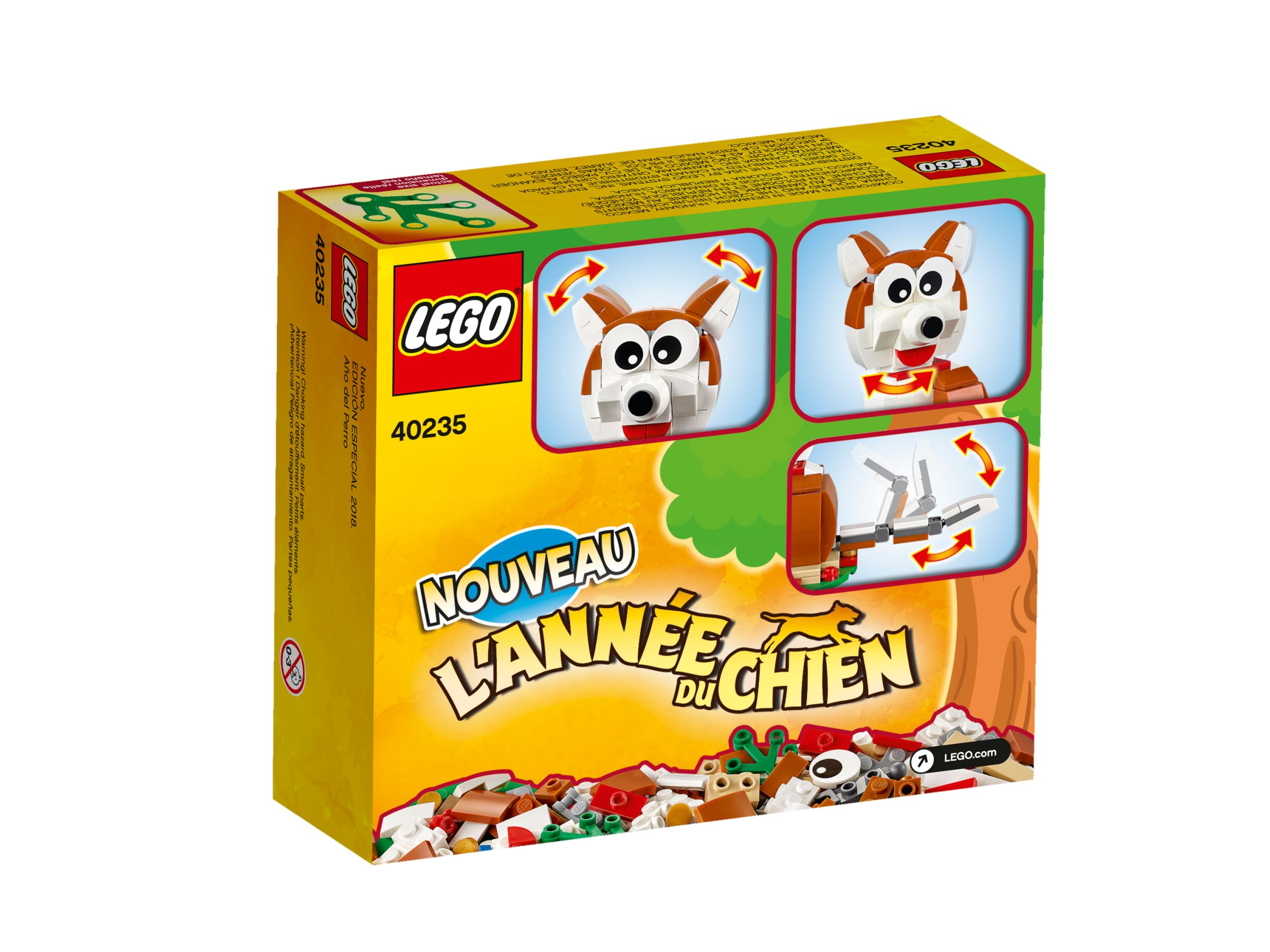 LEGO Miscellaneous 40235 Year of the Dog LEGO_40235_alt2.jpg