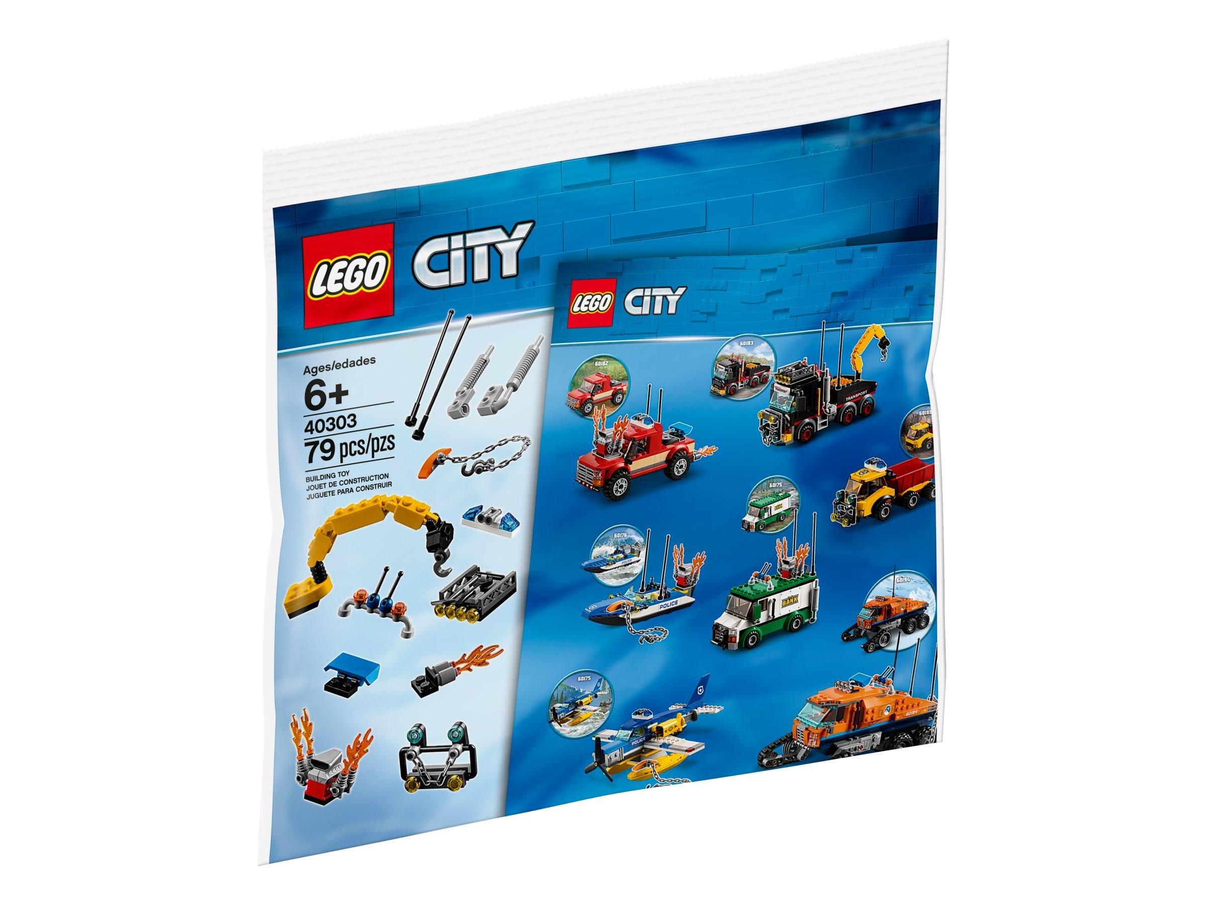 Lego 40303 My City Erweiterungsset Fahrzeuge City 2018