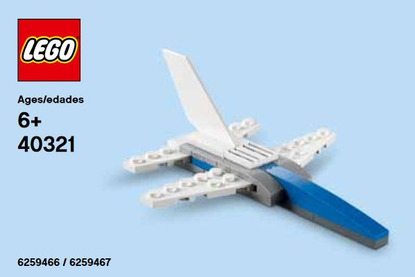 LEGO Promotional 40321 Jet Fighter