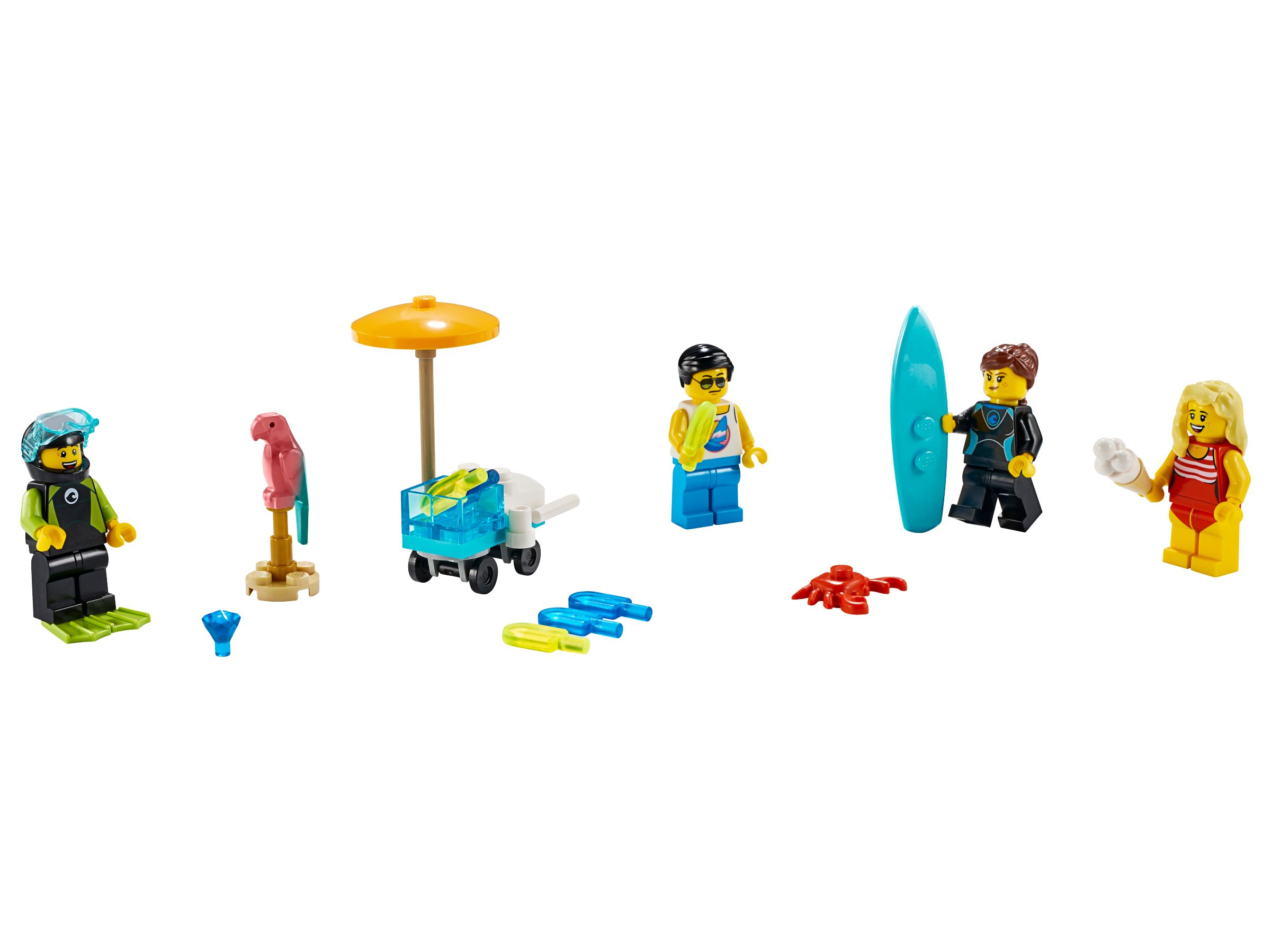 LEGO Miscellaneous 40344 Minifiguren-Set – Sommerparty