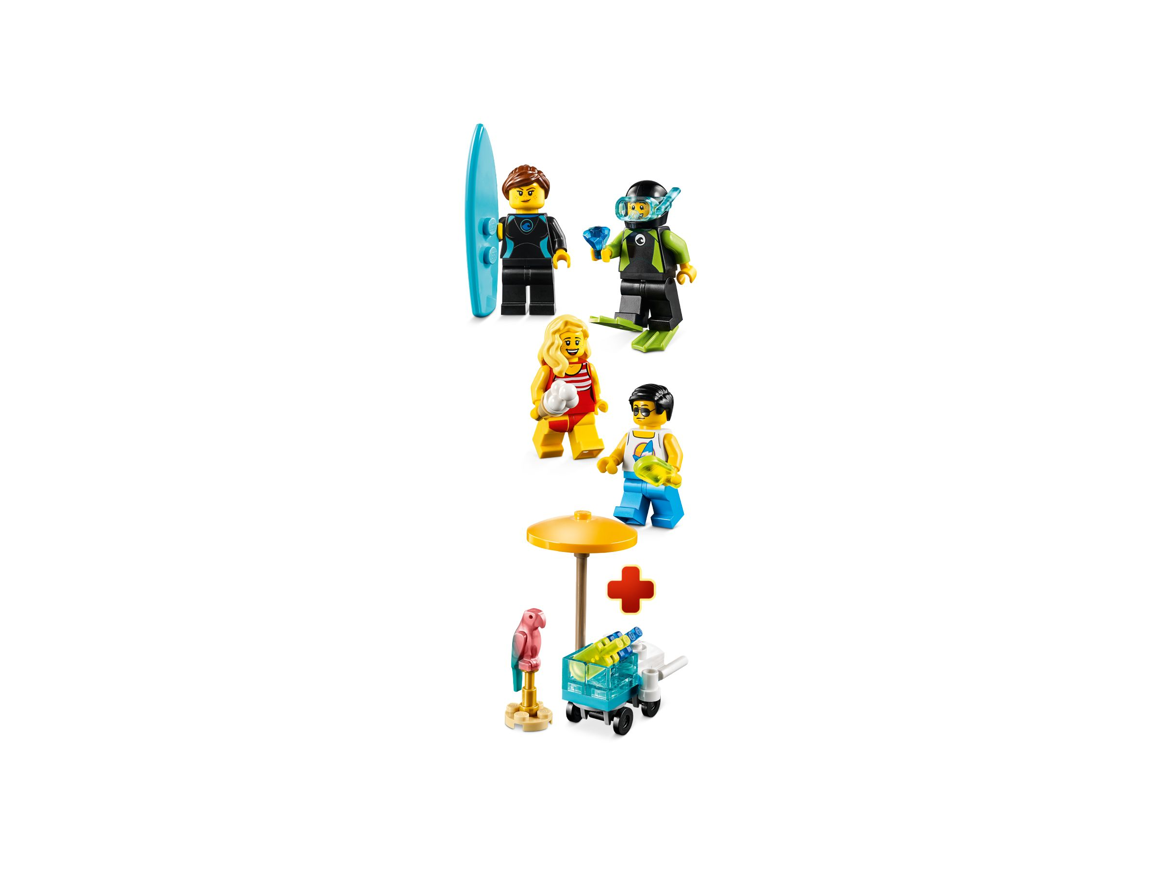 LEGO Miscellaneous 40344 Minifiguren-Set – Sommerparty LEGO_40344_alt1.jpg