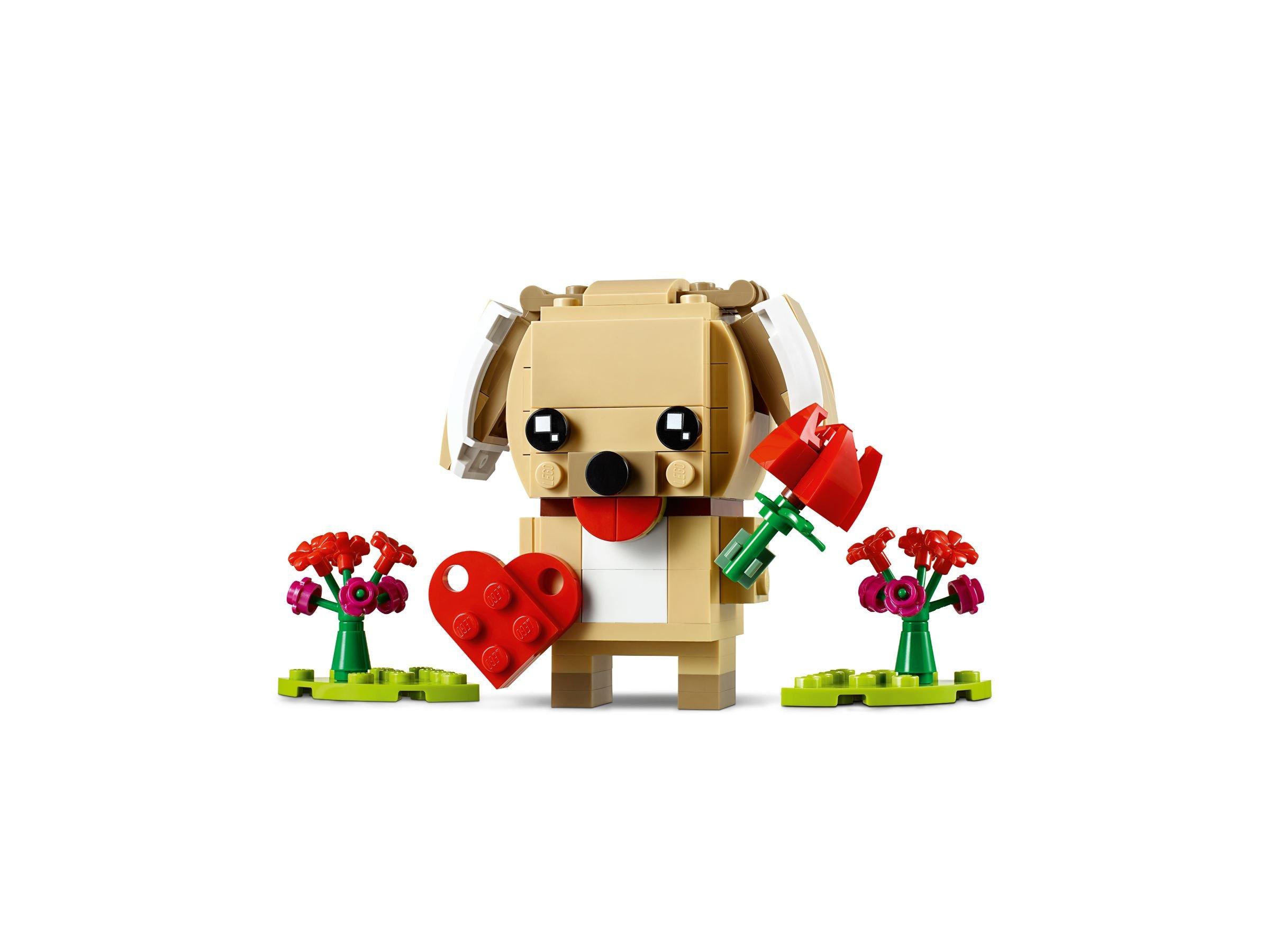 Lego 40349 Valentinstag Welpe Brickheadz 2019 Puppy Brickmerge