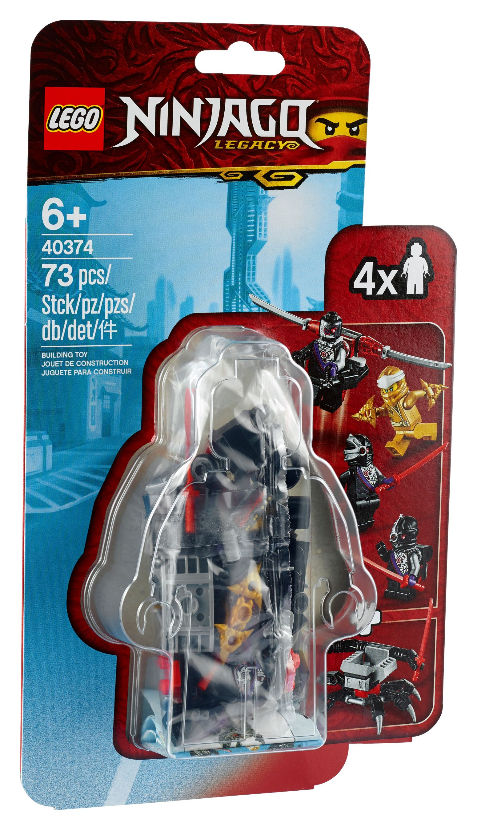 "LEGO® Ninjago 40374 Goldener Zane -"" Minifiguren-Zubehörset"