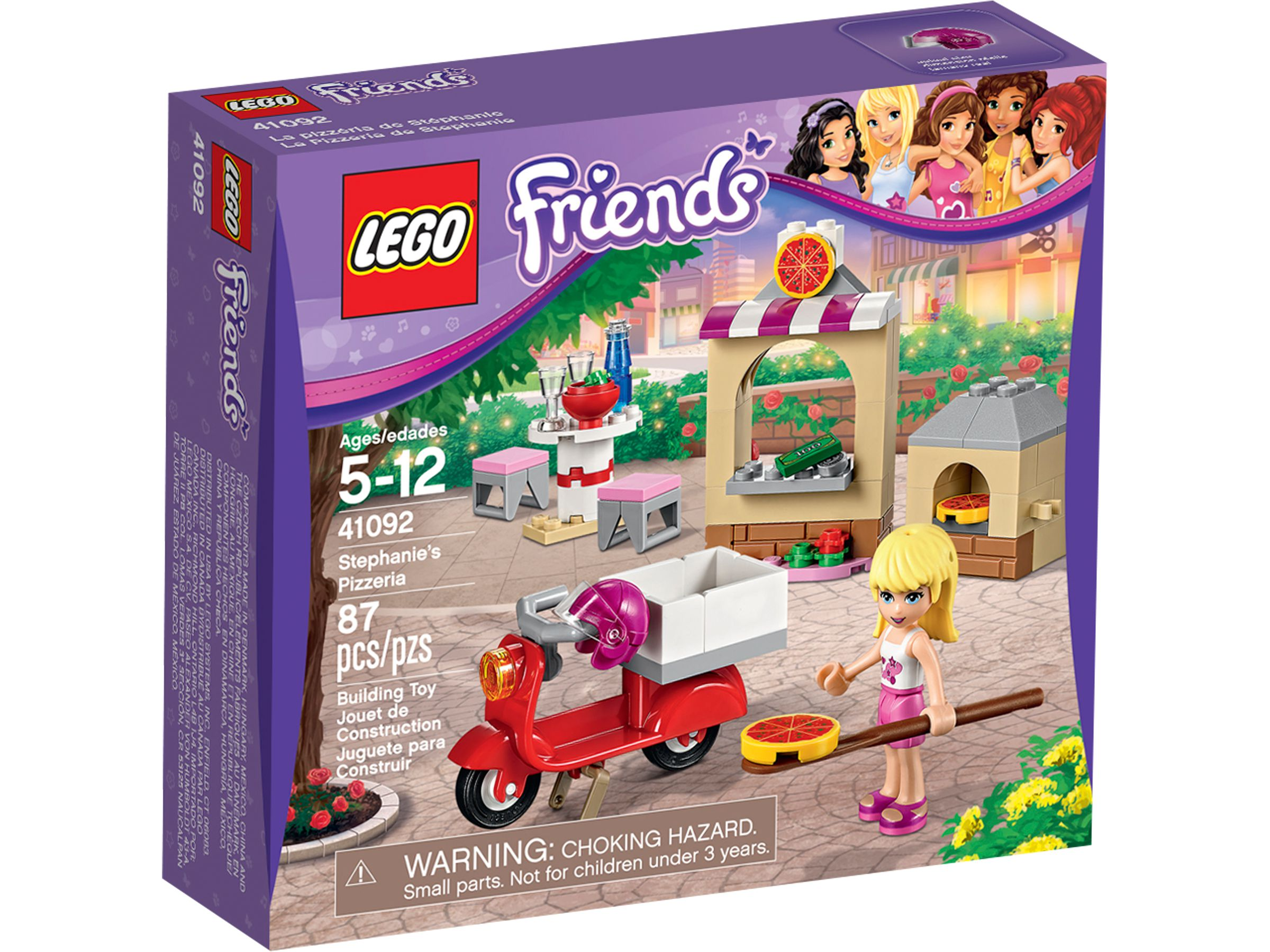LEGO Friends 41092 Stephanies Pizzeria LEGO_41092_alt1.jpg