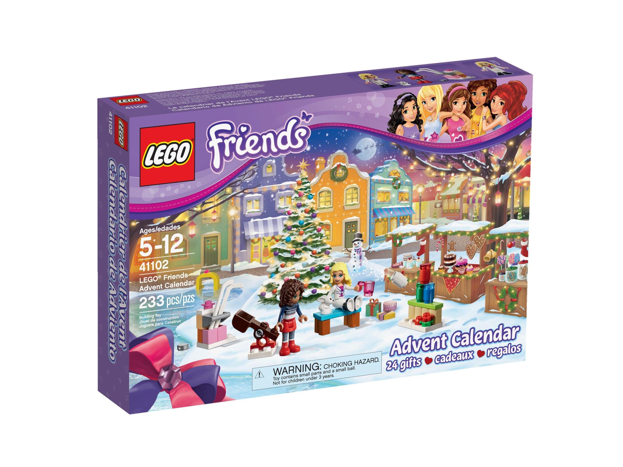 Calendrier Lego Friends 2019.Lego 41102 Lego Friends Adventskalender 2015 2015 Advent Calendar