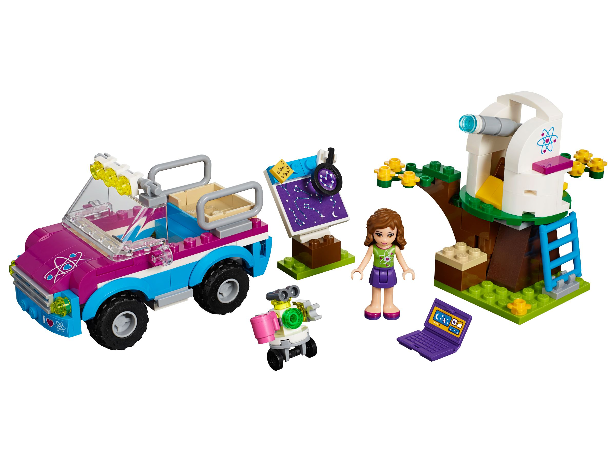 LEGO Friends 41116 Olivias Expeditionsauto LEGO_41116.jpg
