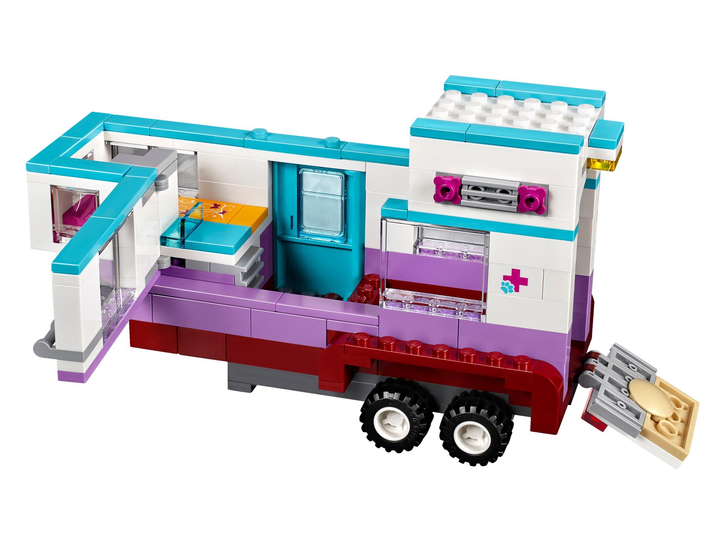 Lego Friends 41125 Pferdeanhänger Und Tierärztin Brickmerge