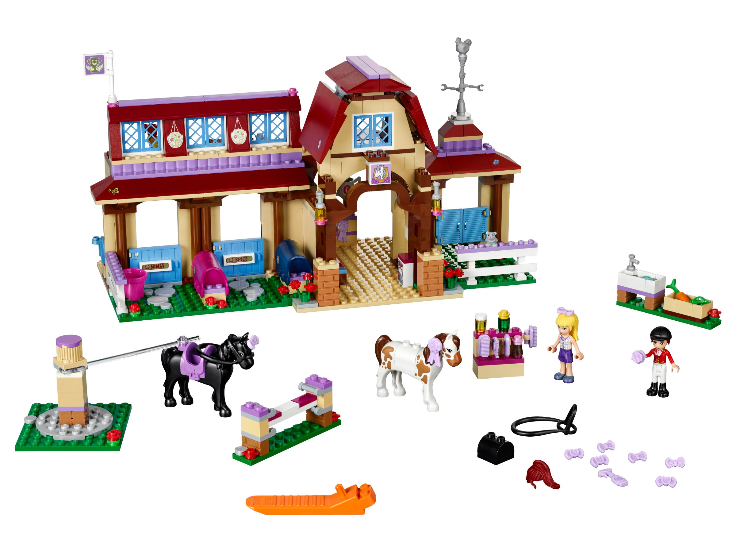 lego 41126 heartlake reiterhof friends 2016 ab 42 49 35 gespart heartlake riding club. Black Bedroom Furniture Sets. Home Design Ideas