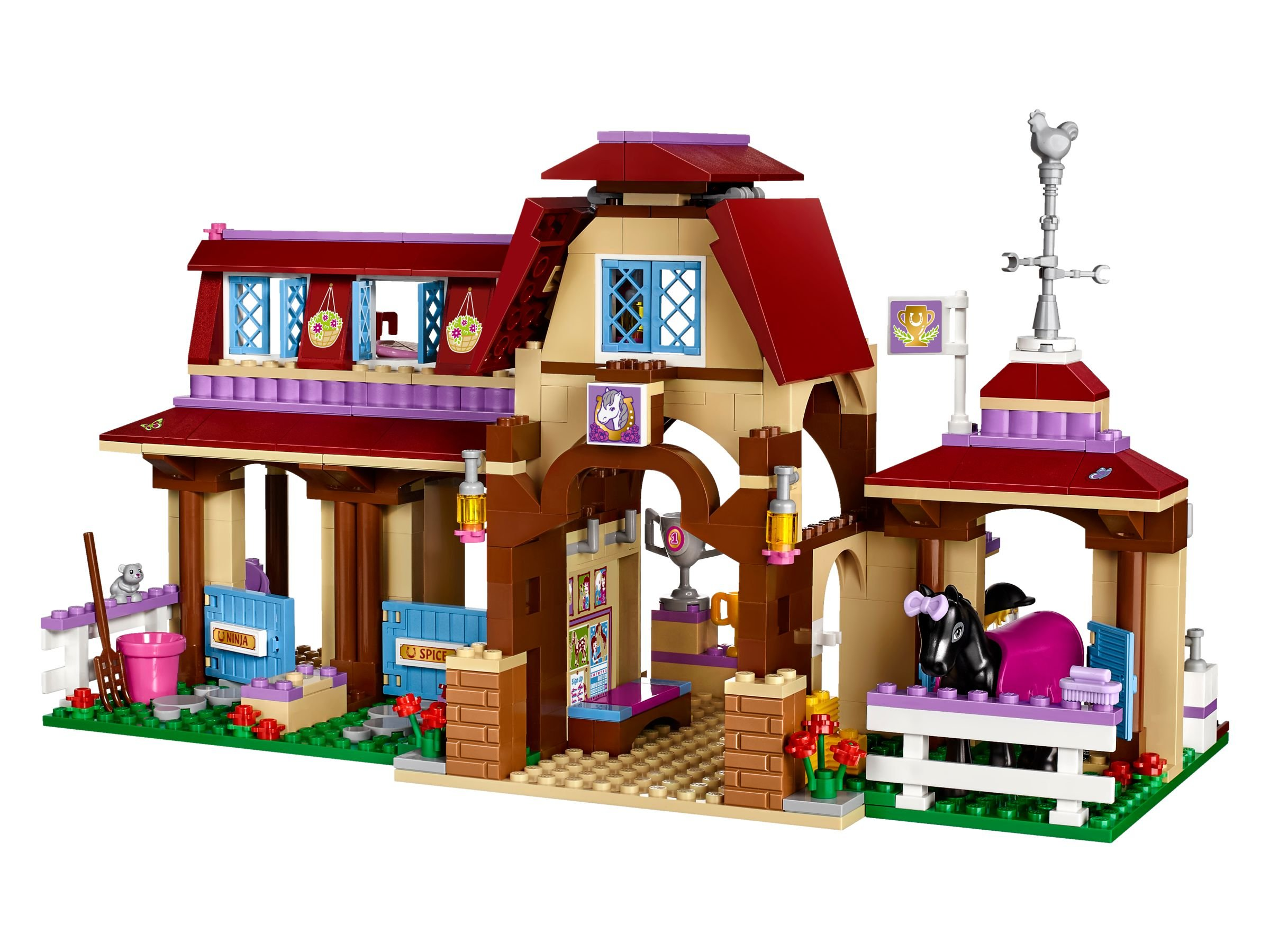 lego 41126 heartlake reiterhof friends 2016 ab 49 99 23 gespart heartlake riding club. Black Bedroom Furniture Sets. Home Design Ideas