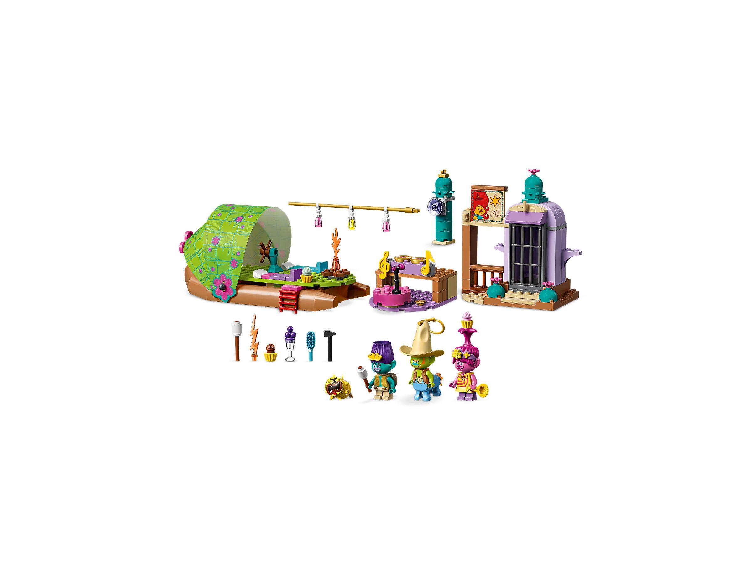 LEGO® Trolls World Tour 41253 Floßabenteuer in Einsamshausen