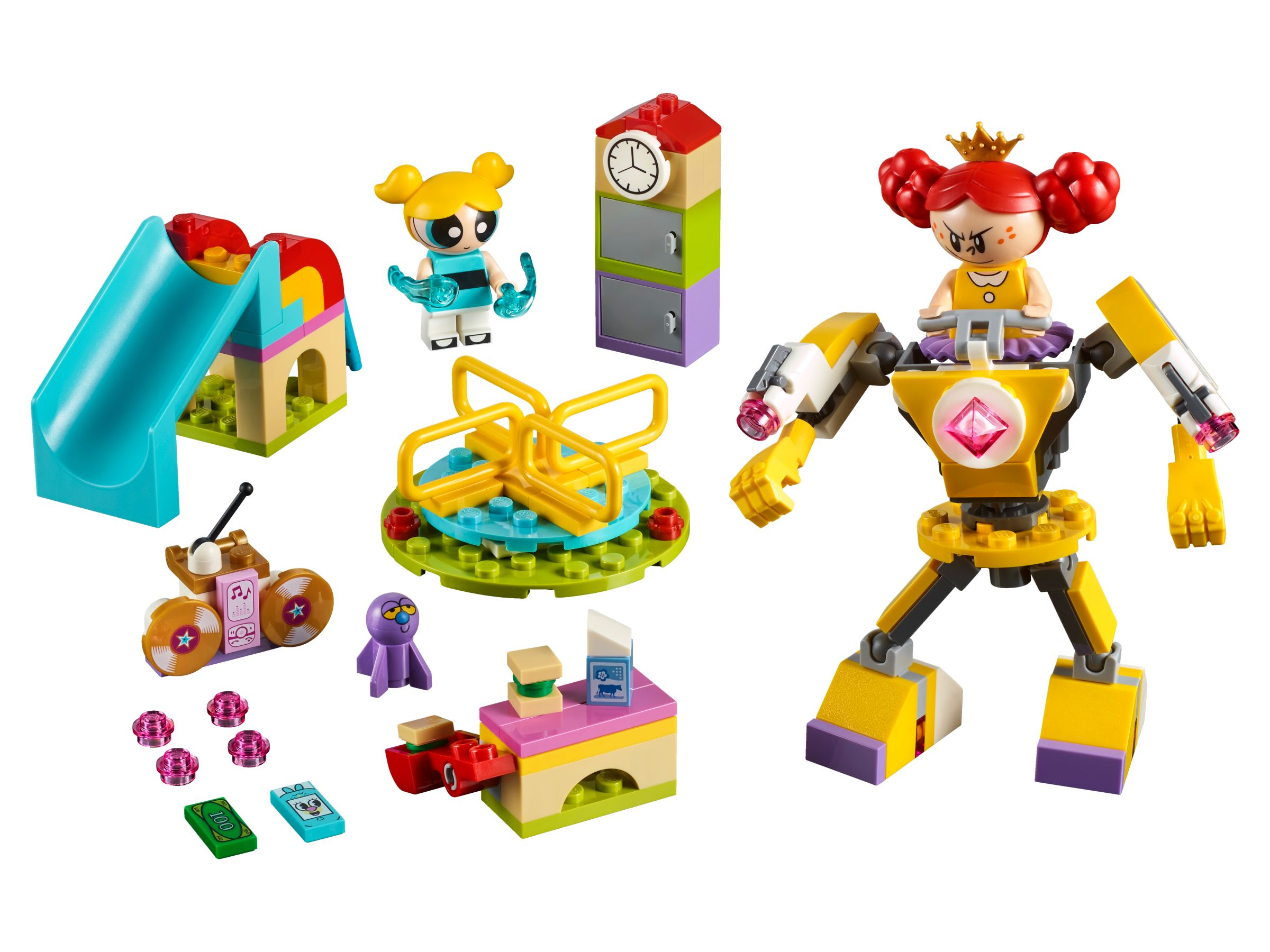 LEGO The Powerpuff Girls 41287 Bubbles' Spielplatzabenteuer