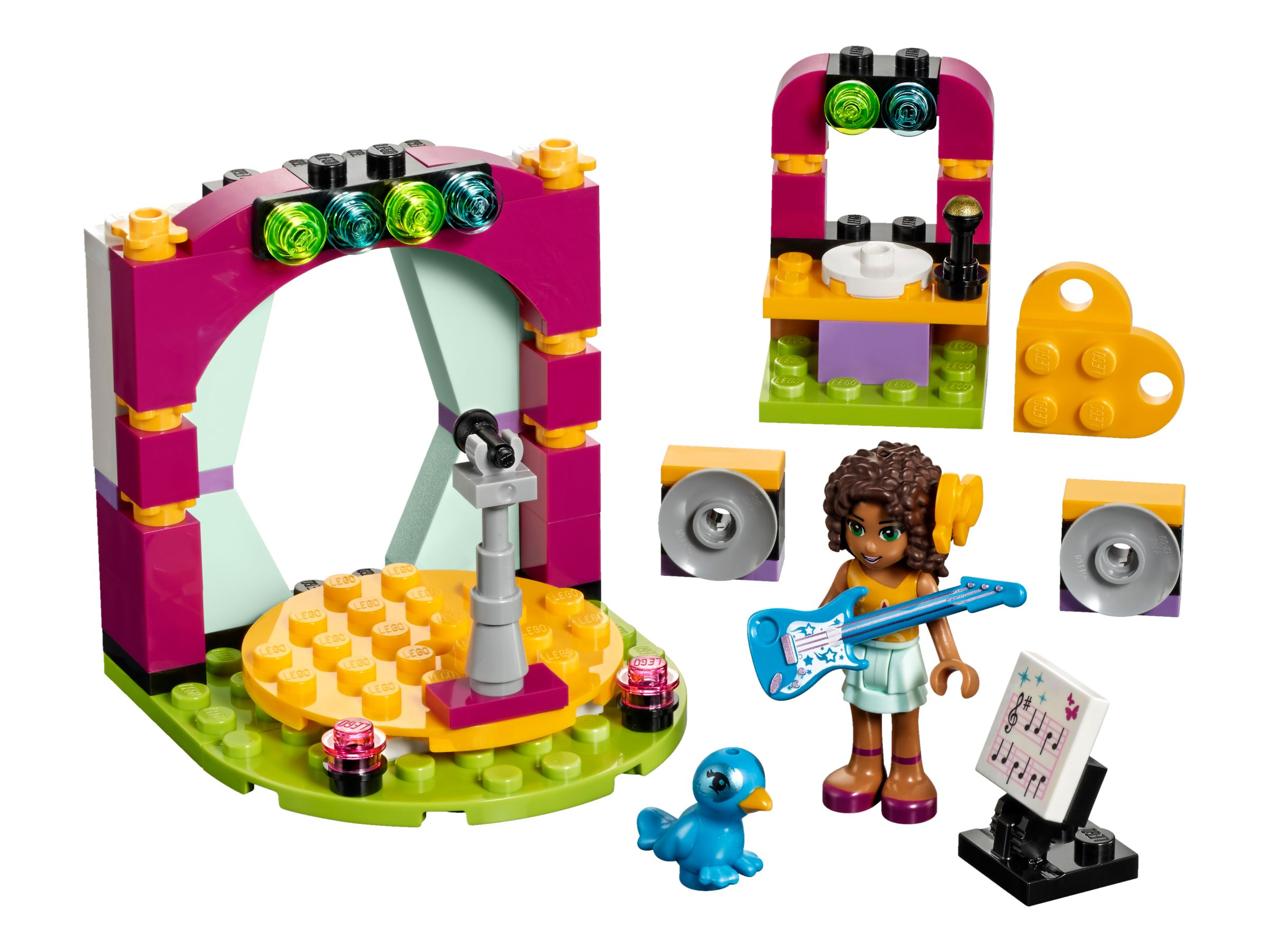 LEGO Friends 41309 Andreas Showbühne