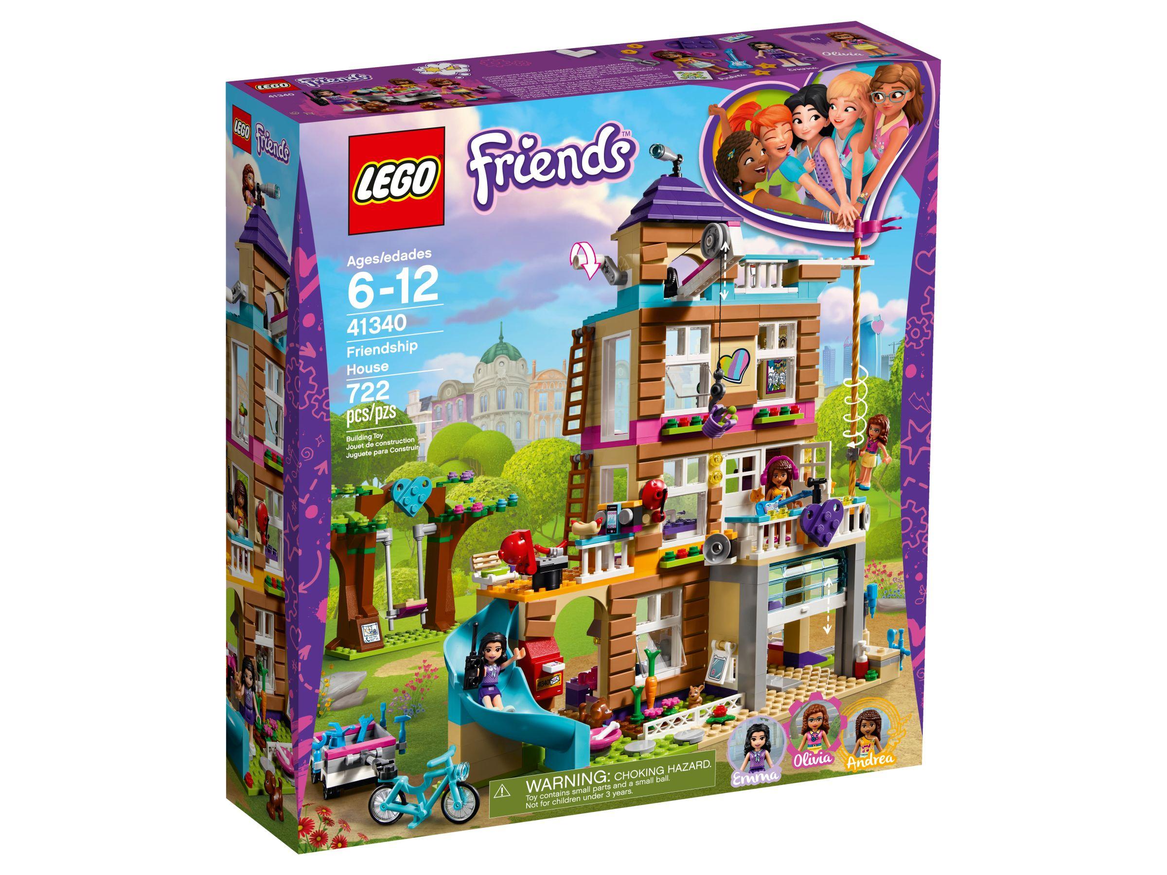LEGO® Friends - Freundschaftshaus 41340 (2018)   LEGO