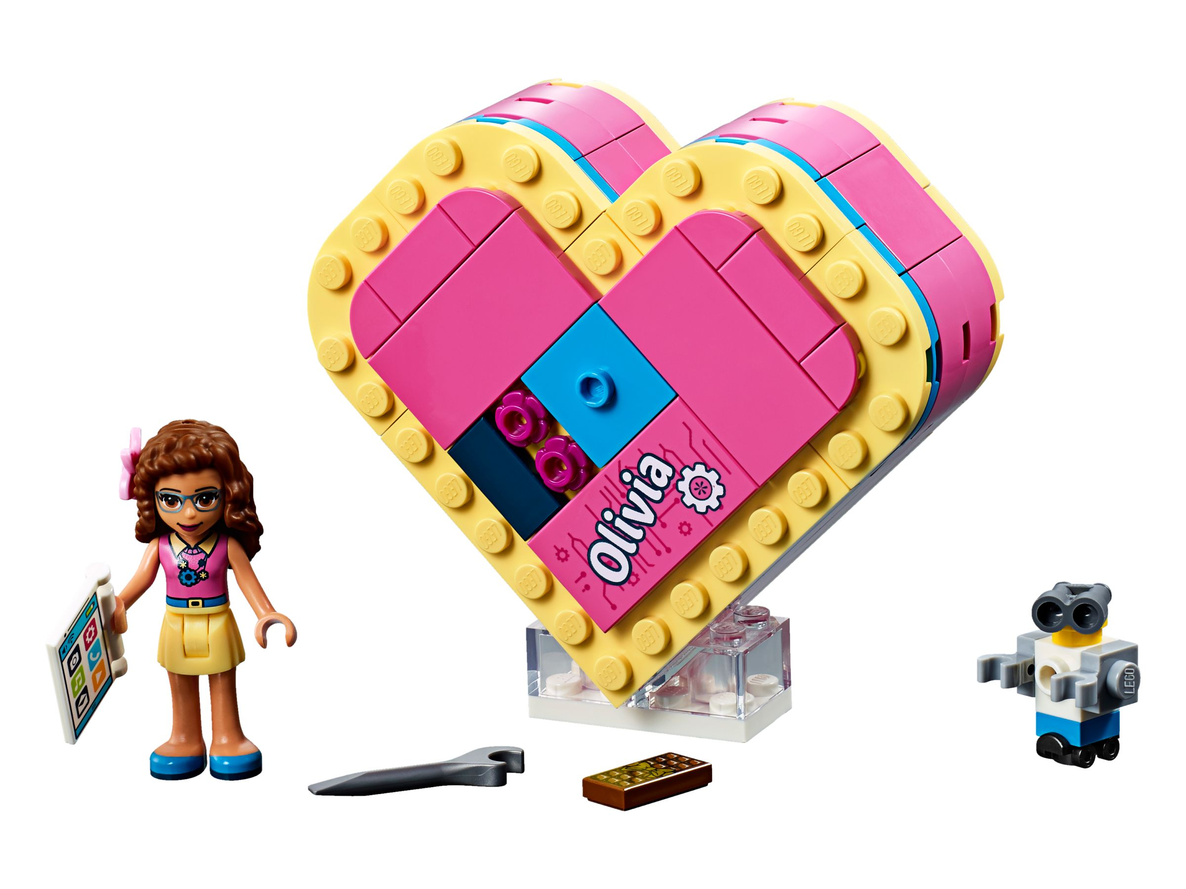 LEGO Friends 41357 Olivias Herzbox