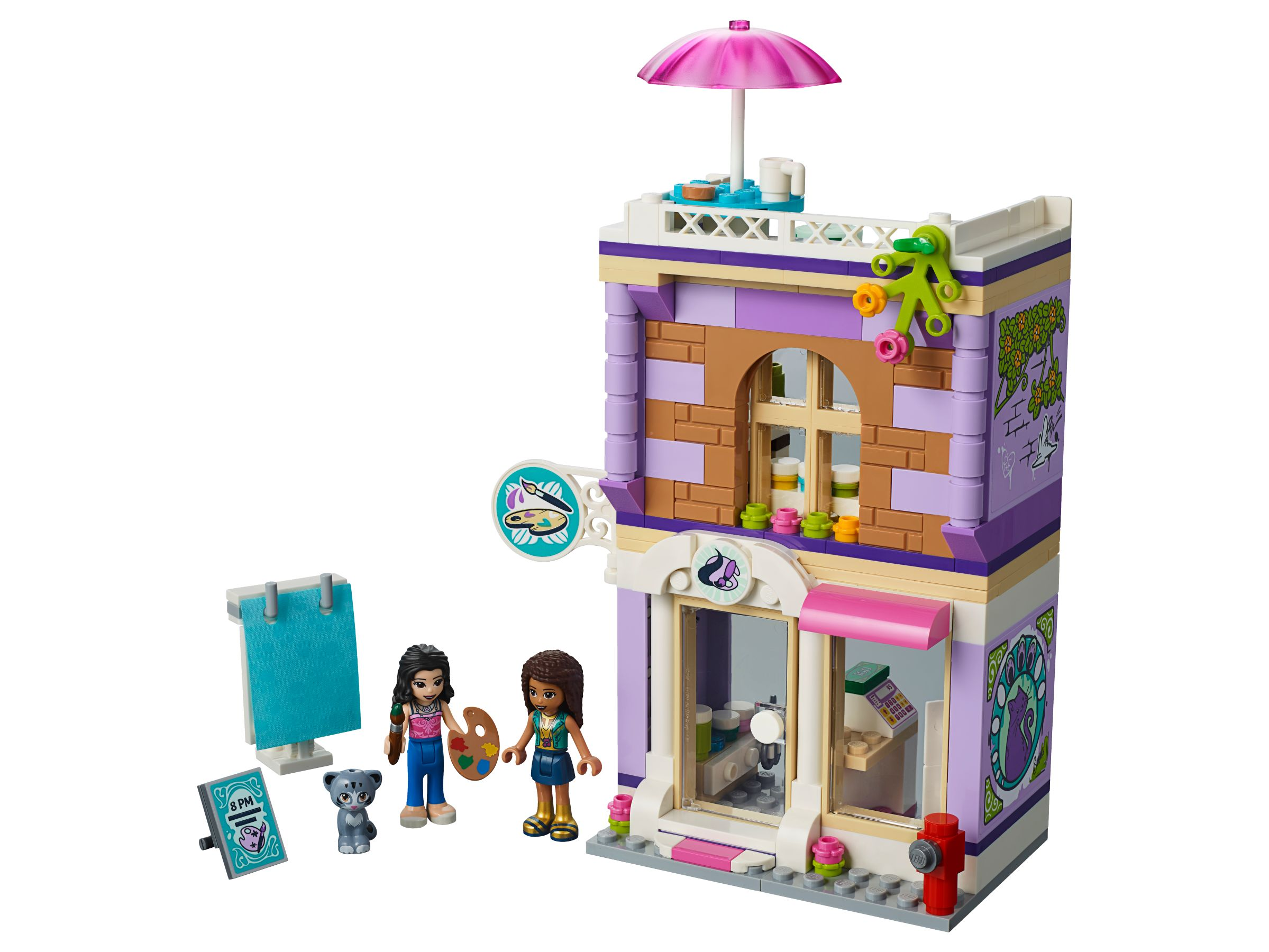 lego friends 41365 emmas k nstlerstudio ab 16 19 35. Black Bedroom Furniture Sets. Home Design Ideas
