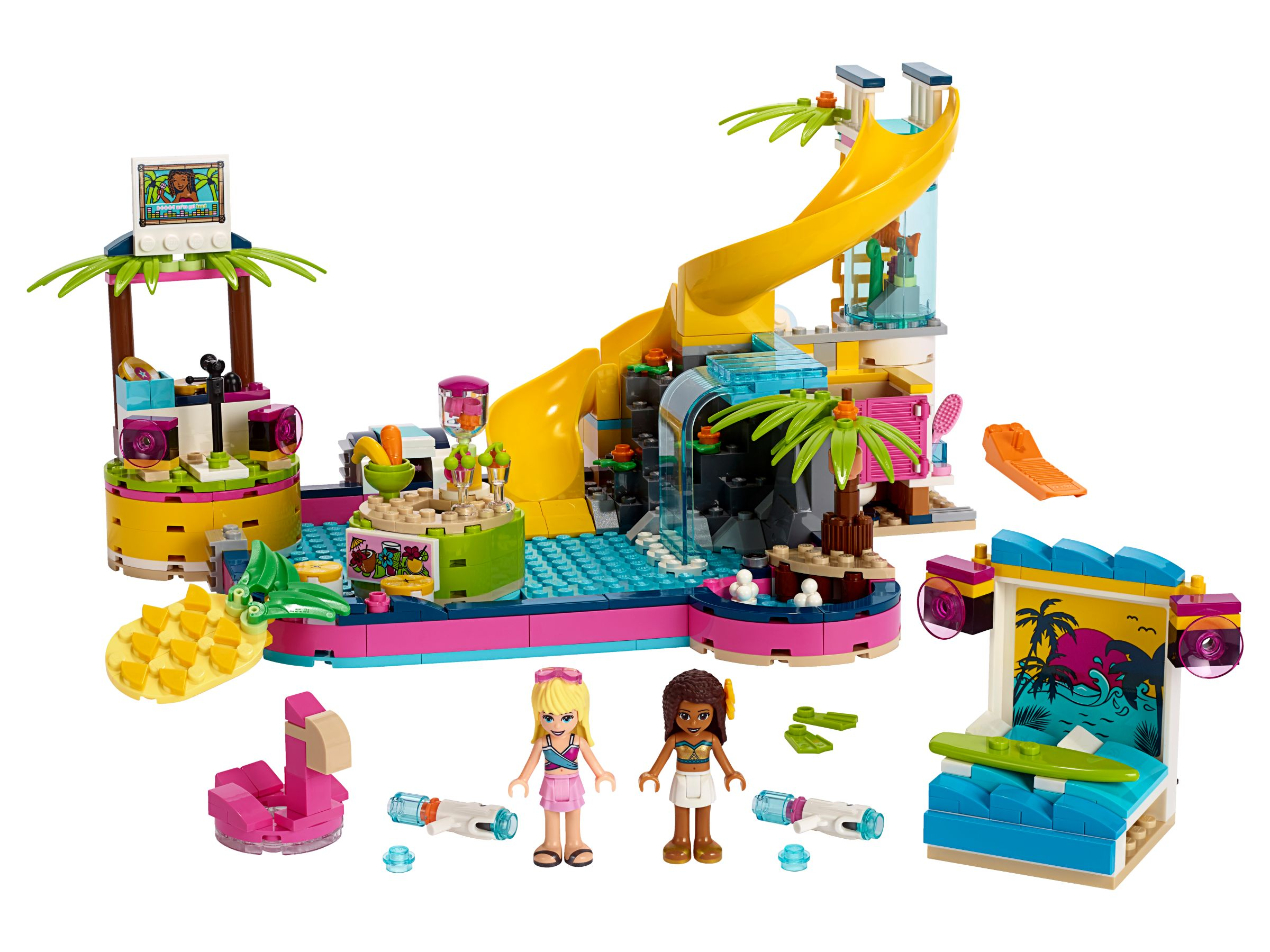 LEGO Friends 41374 Andreas Pool-Party
