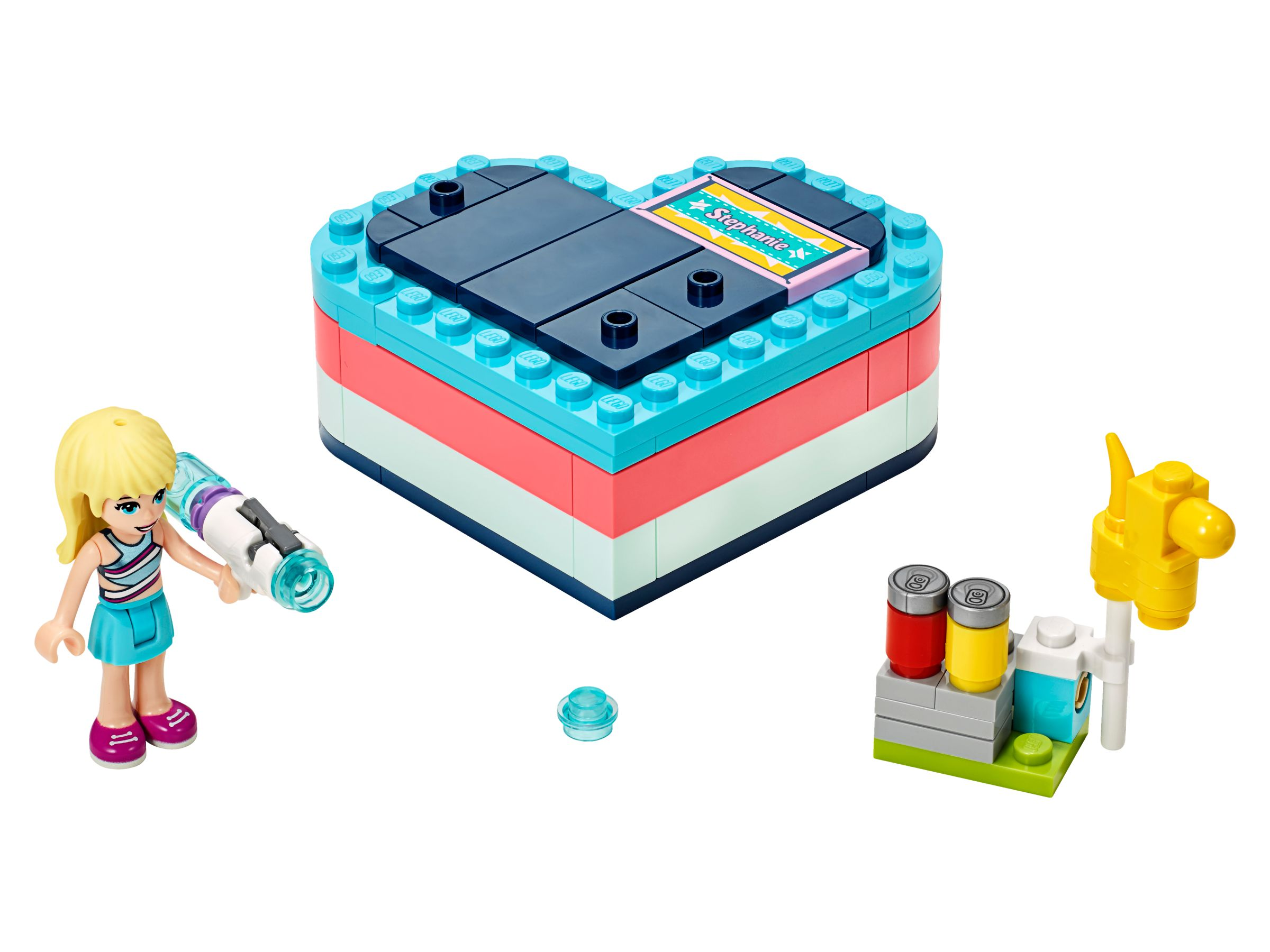 LEGO Friends 41386 Stephanies sommerliche Herzbox