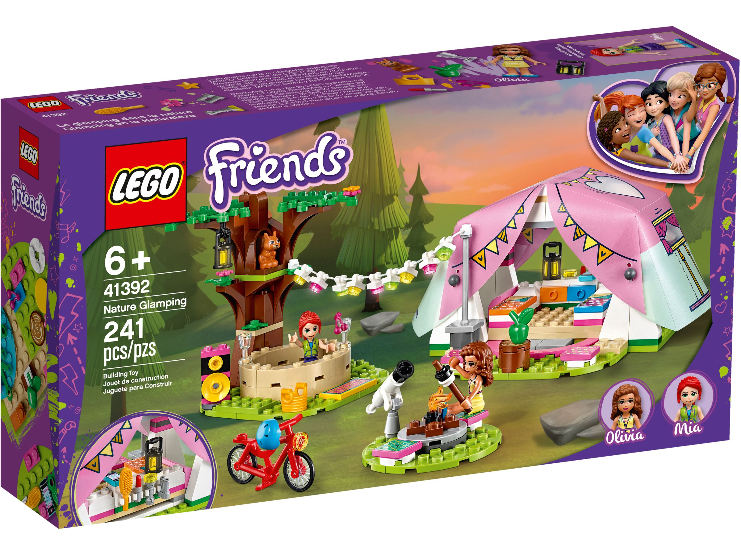 LEGO Friends 41392 Camping in Heartlake City LEGO_41392_alt1.jpg