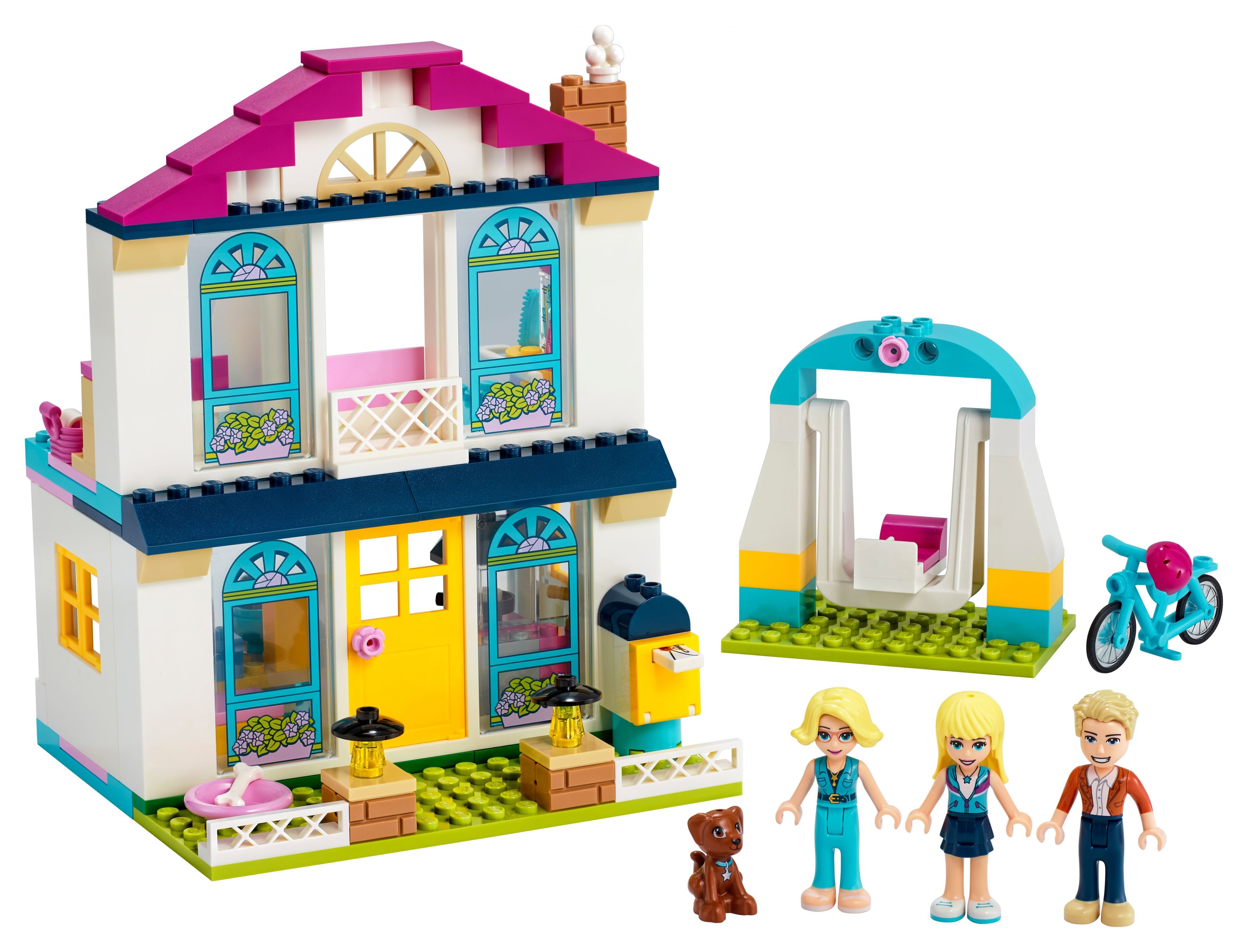 LEGO Friends 41398 4+ – Stephanies Familienhaus