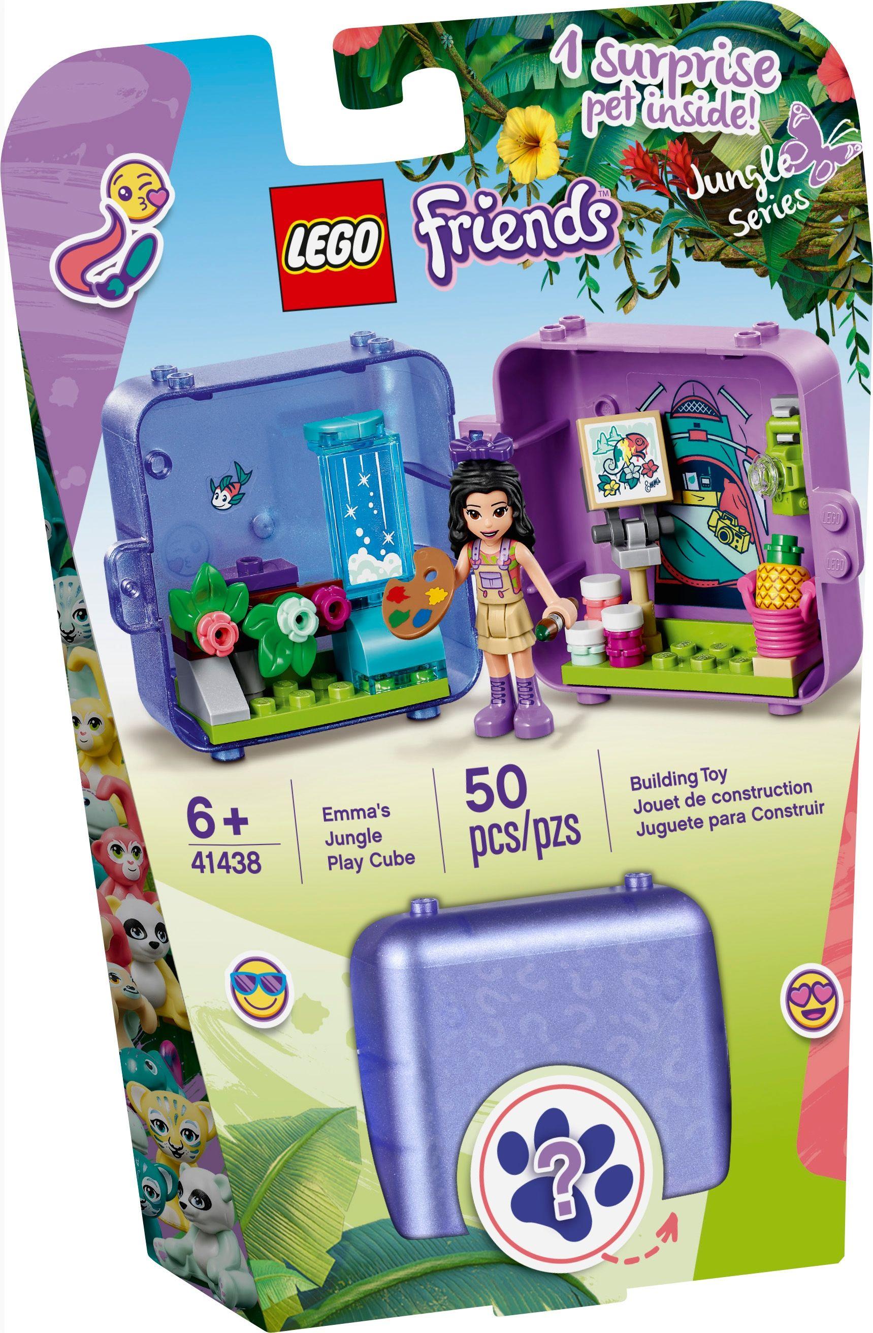 LEGO® Friends - Emma's Jungle Cube - Art Studio 41438 ...