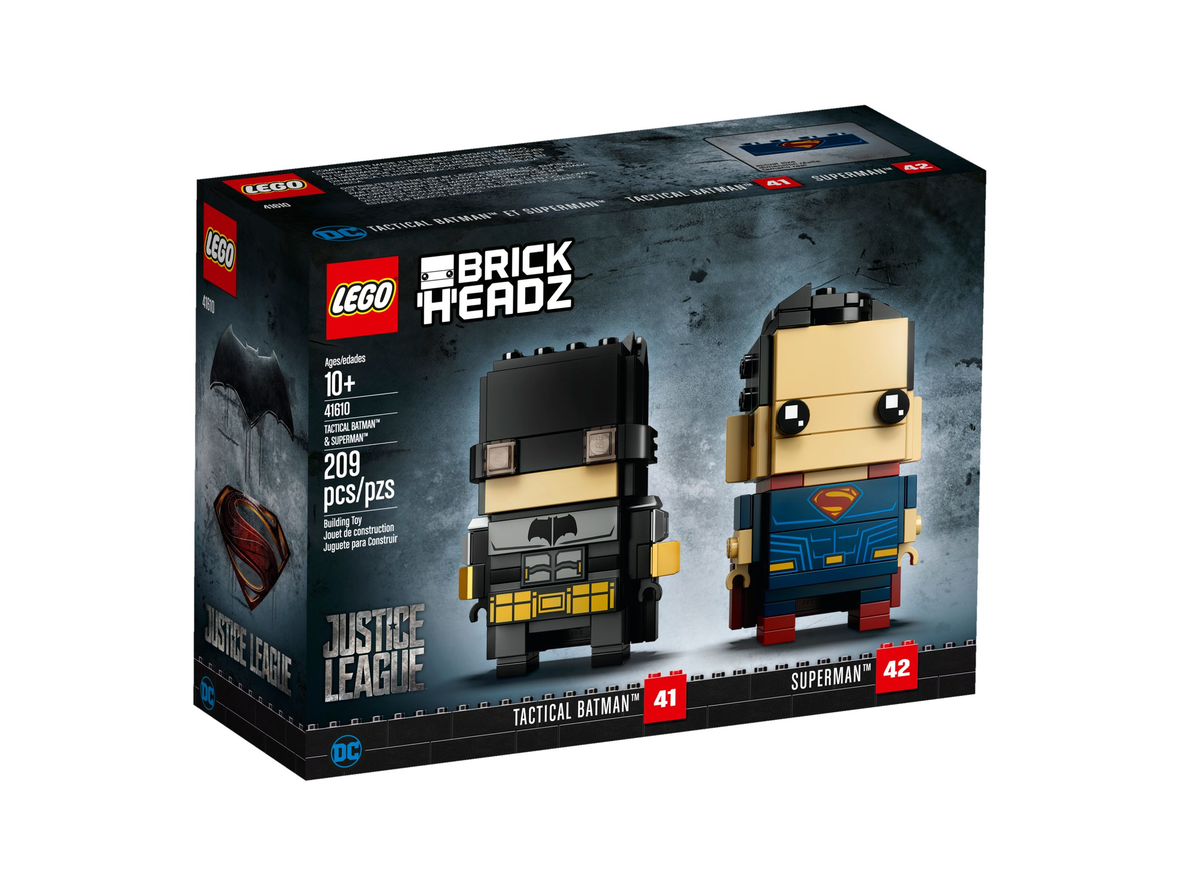 LEGO BrickHeadz 41610 Tactical Batman™ & Superman™ LEGO_41610_alt1.jpg
